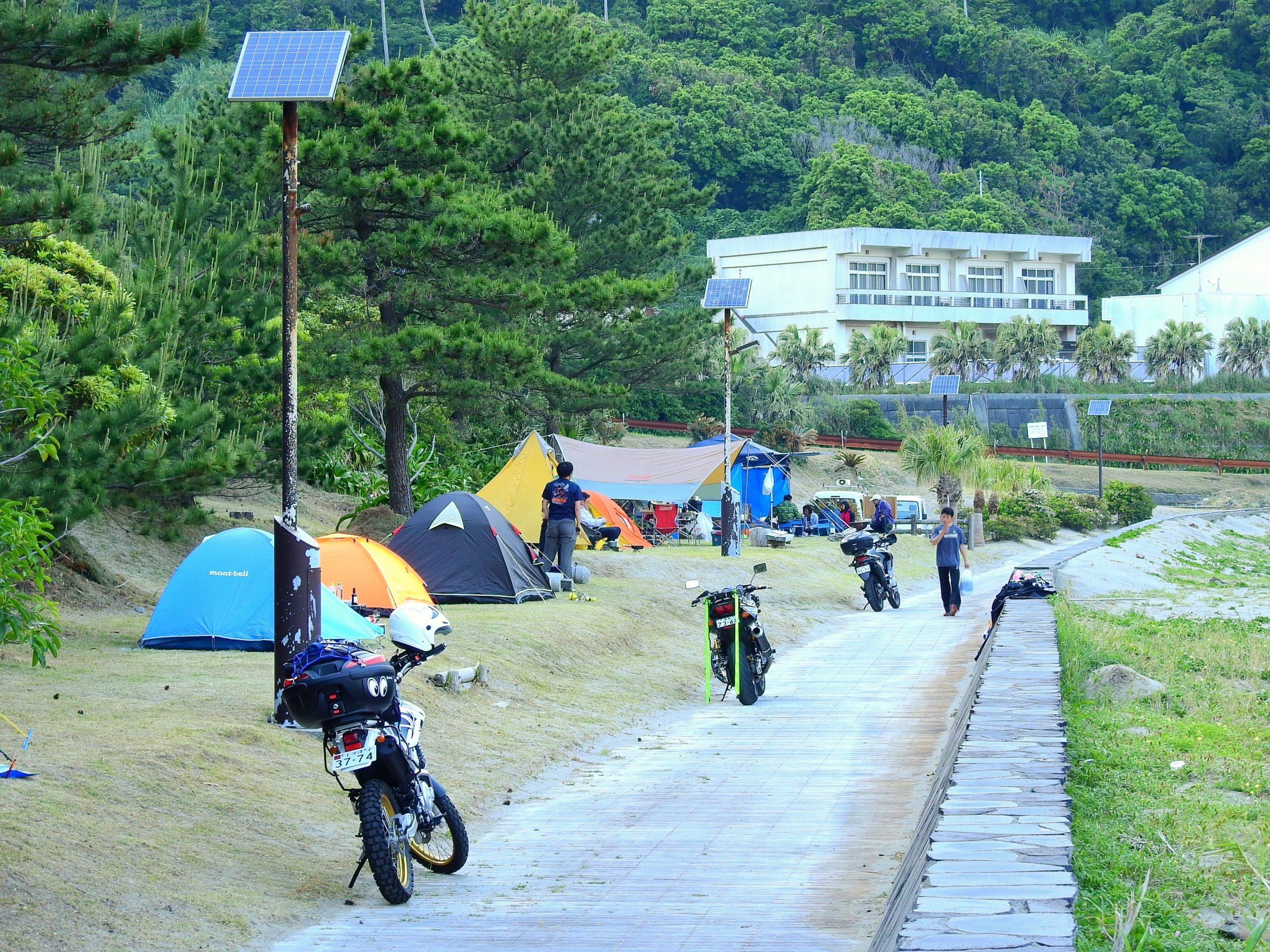 鹿児島県 大泊野営キャンプ場