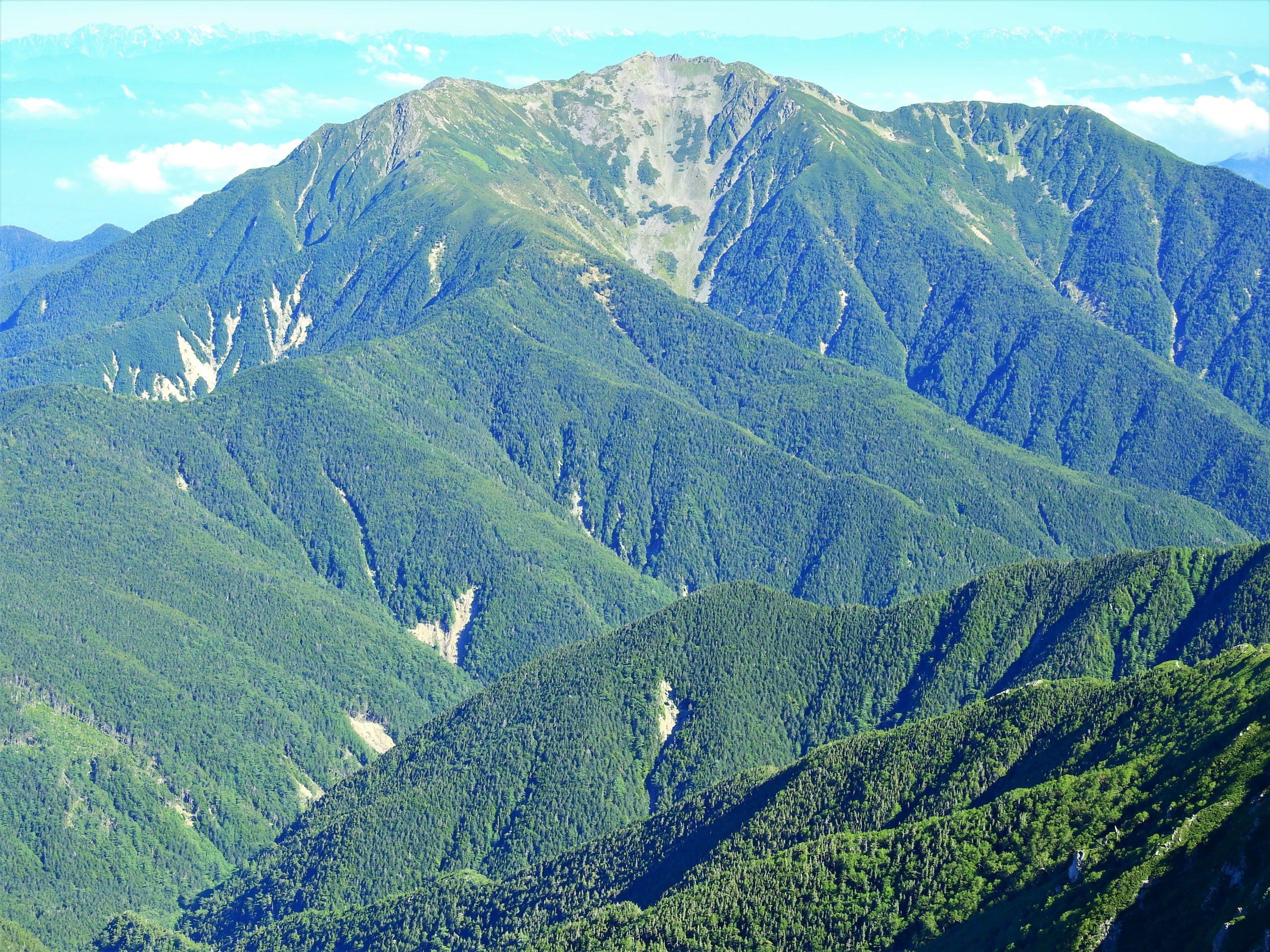 南アルプス 仙丈ヶ岳