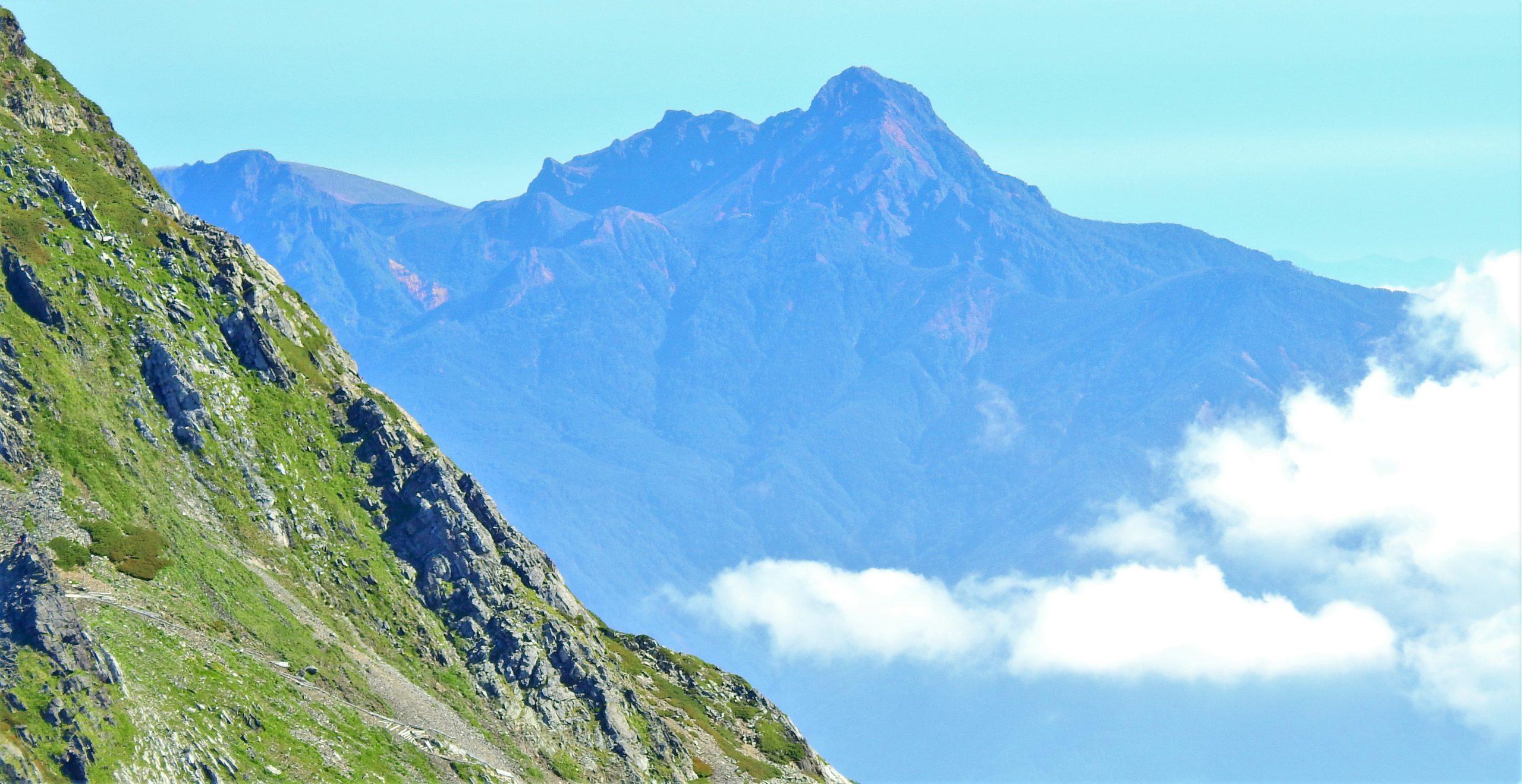 南アルプス 鳳凰三山