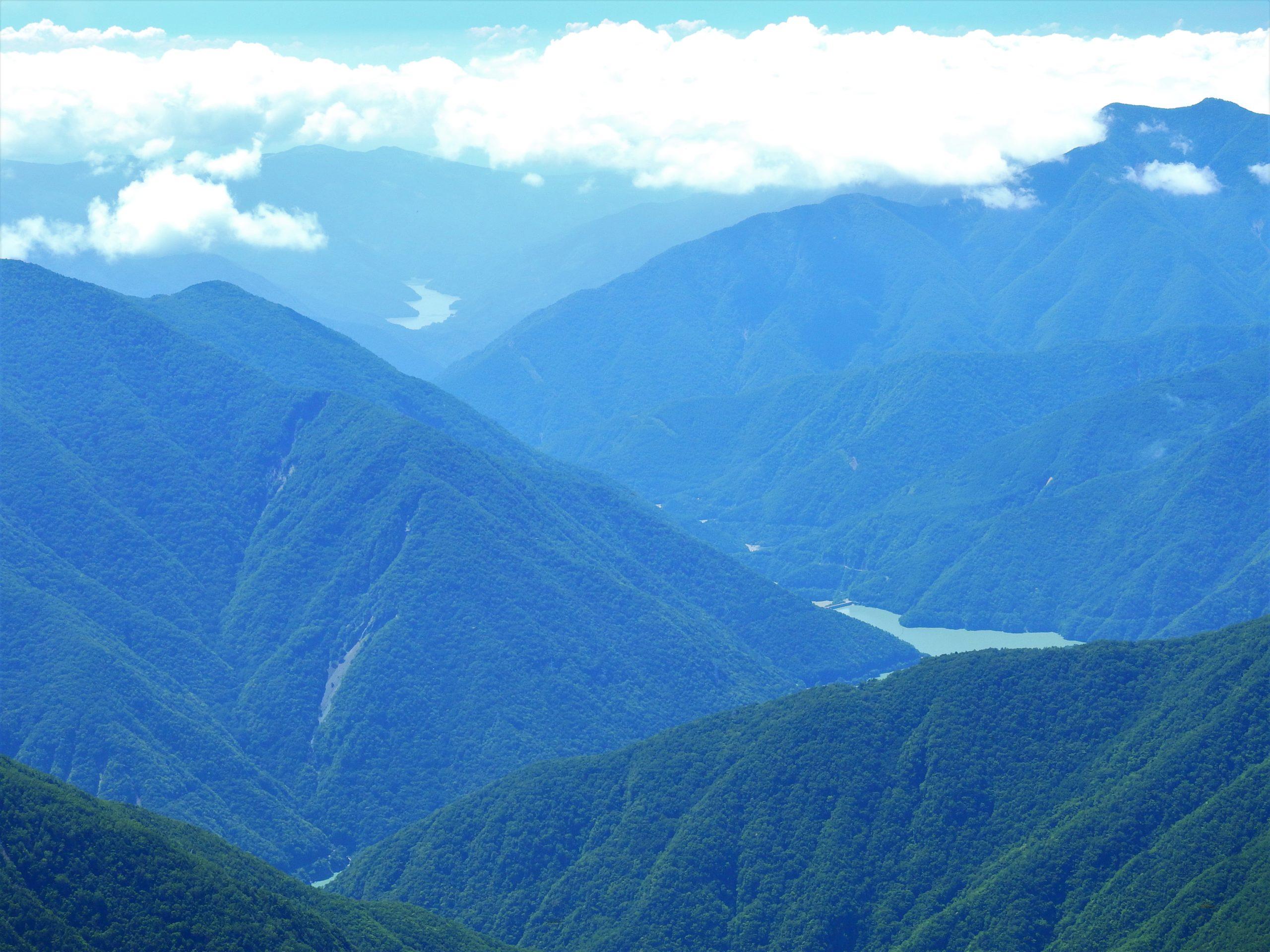 南アルプス 上河内岳