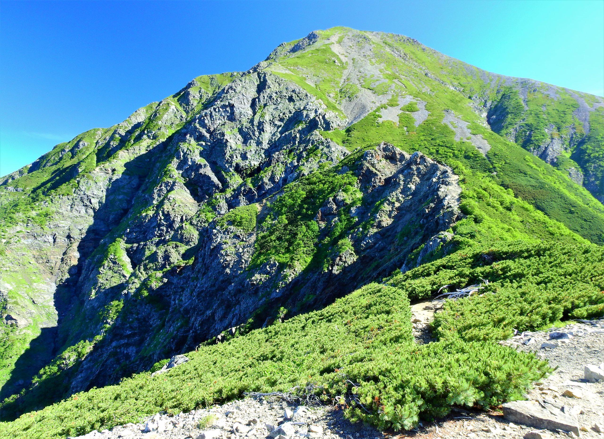 南アルプス 小聖岳