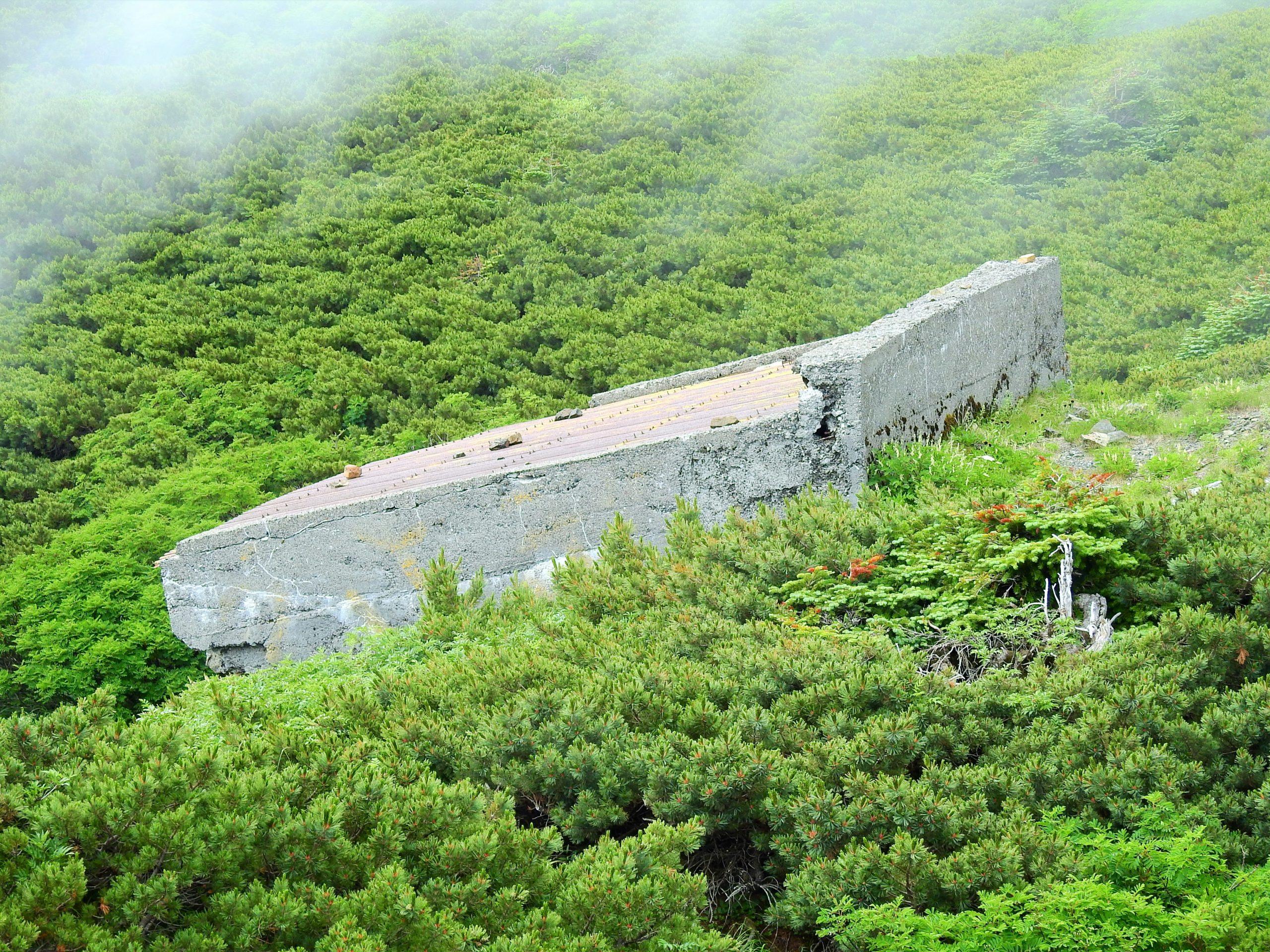 南アルプス 兎岳避難小屋