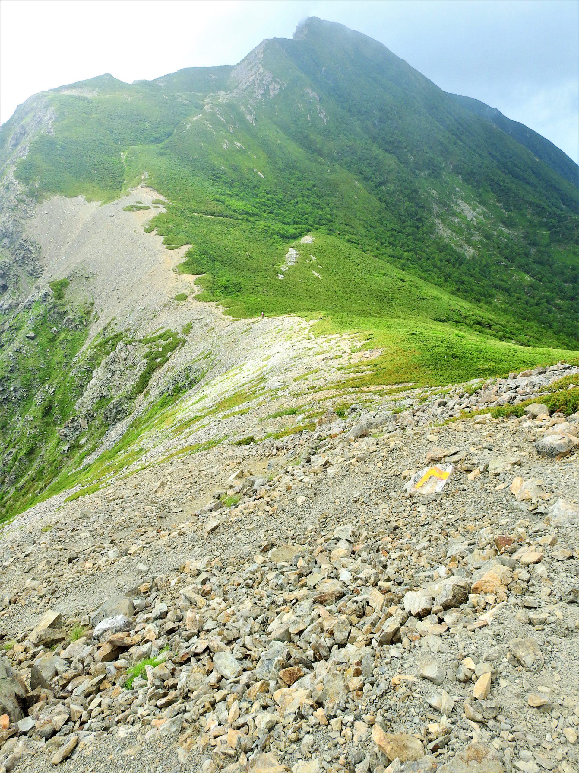 南アルプス 小兎岳