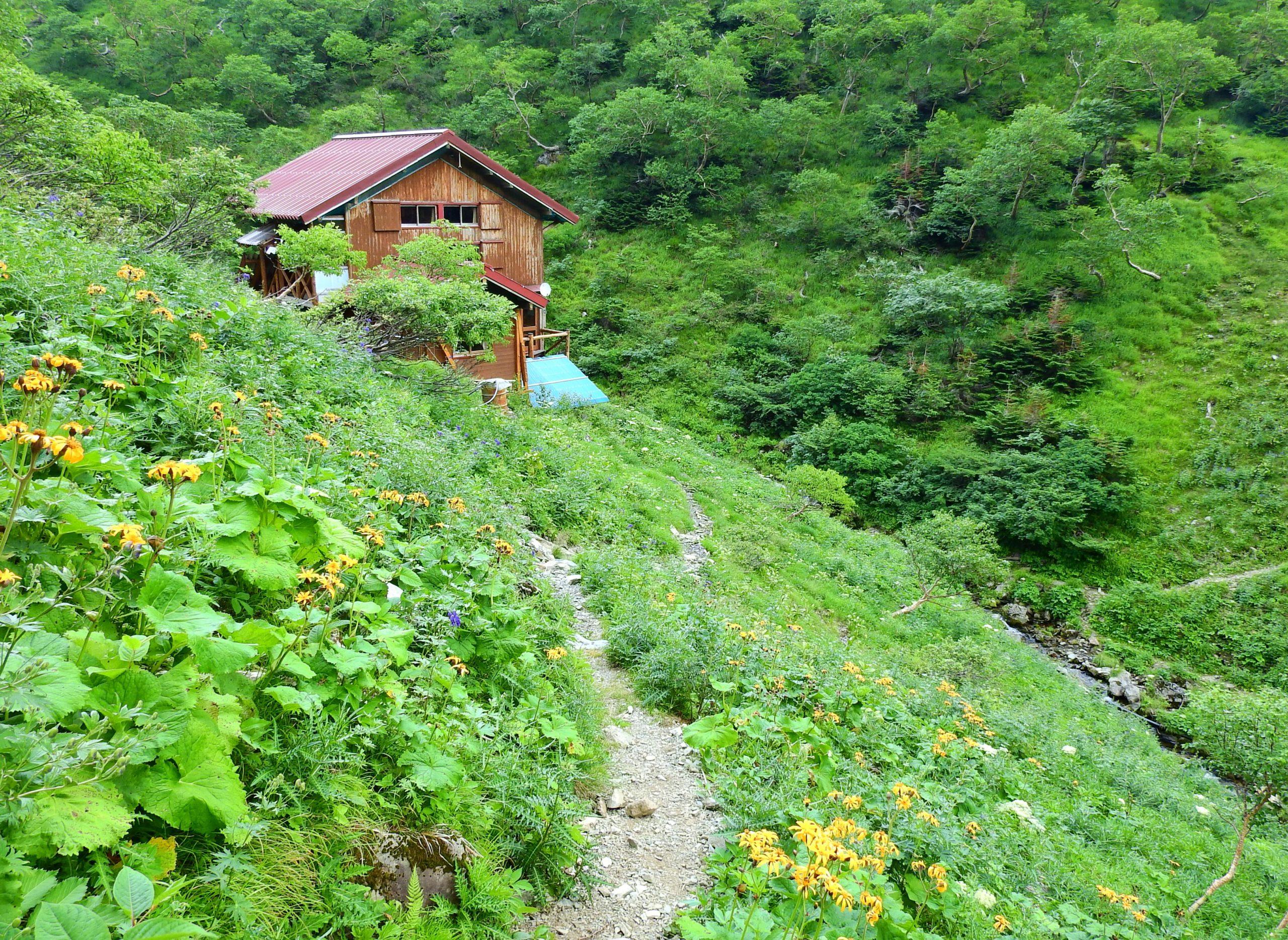 南アルプス 百間洞山の家