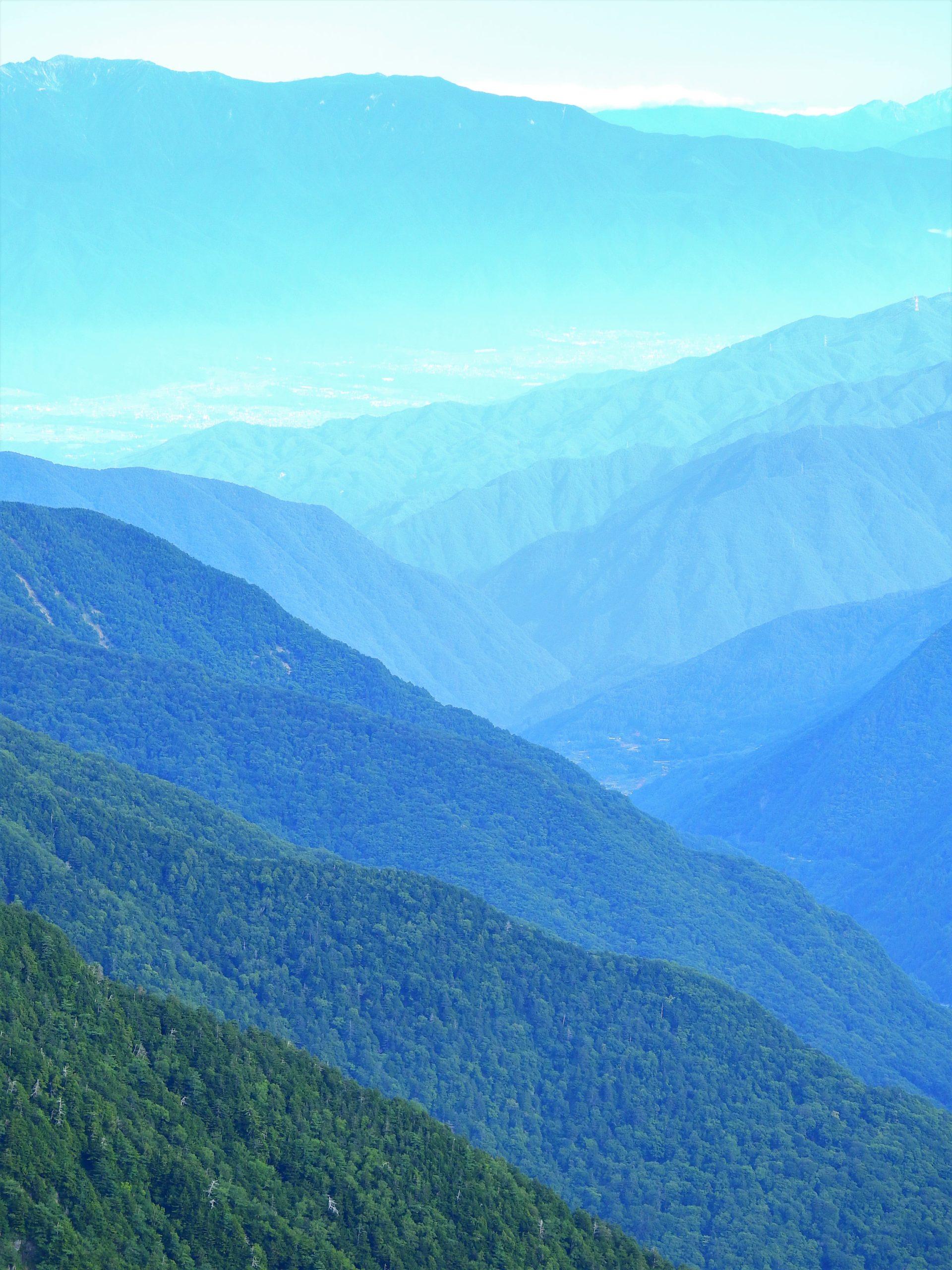 南アルプス 赤石岳
