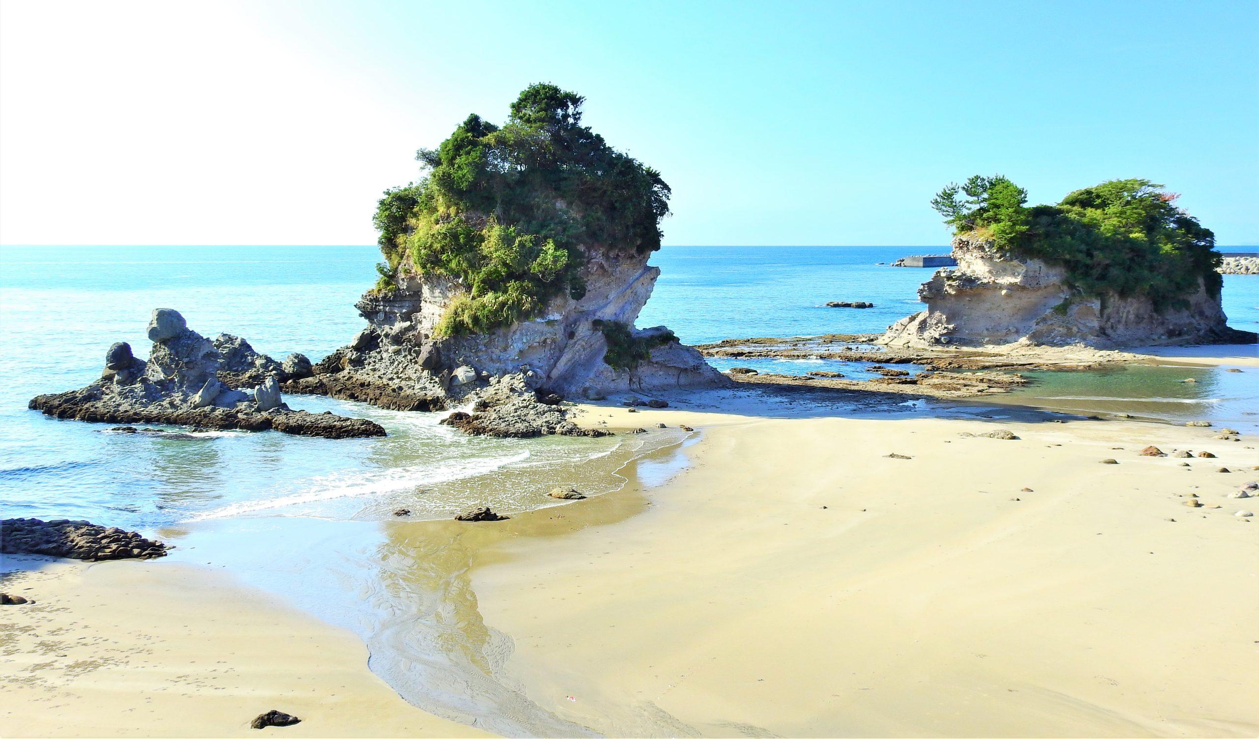 鹿児島県 人形岩