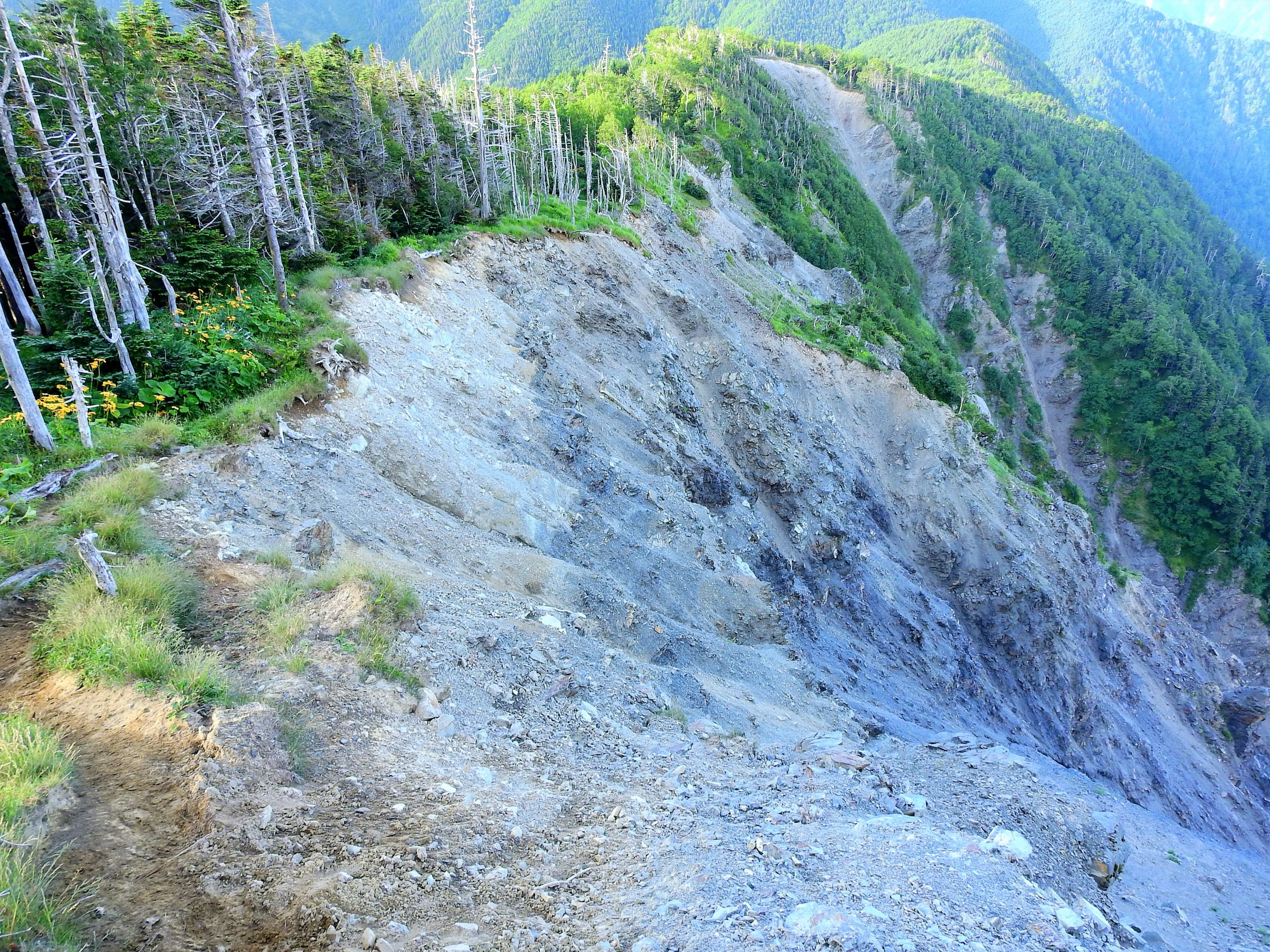 南アルプス 板谷岳