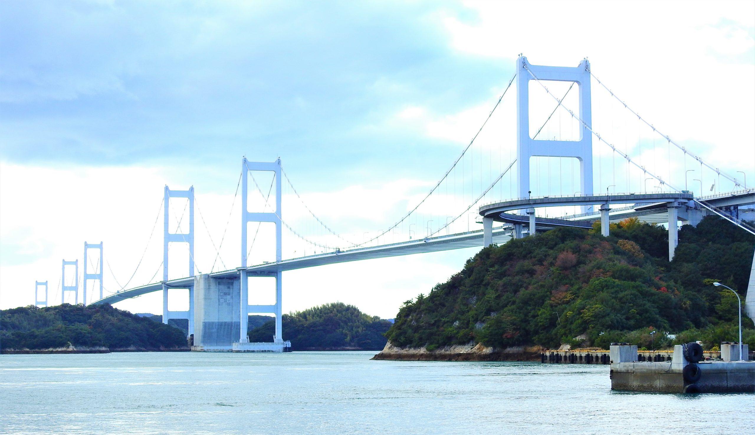 愛媛県 来島海峡大橋
