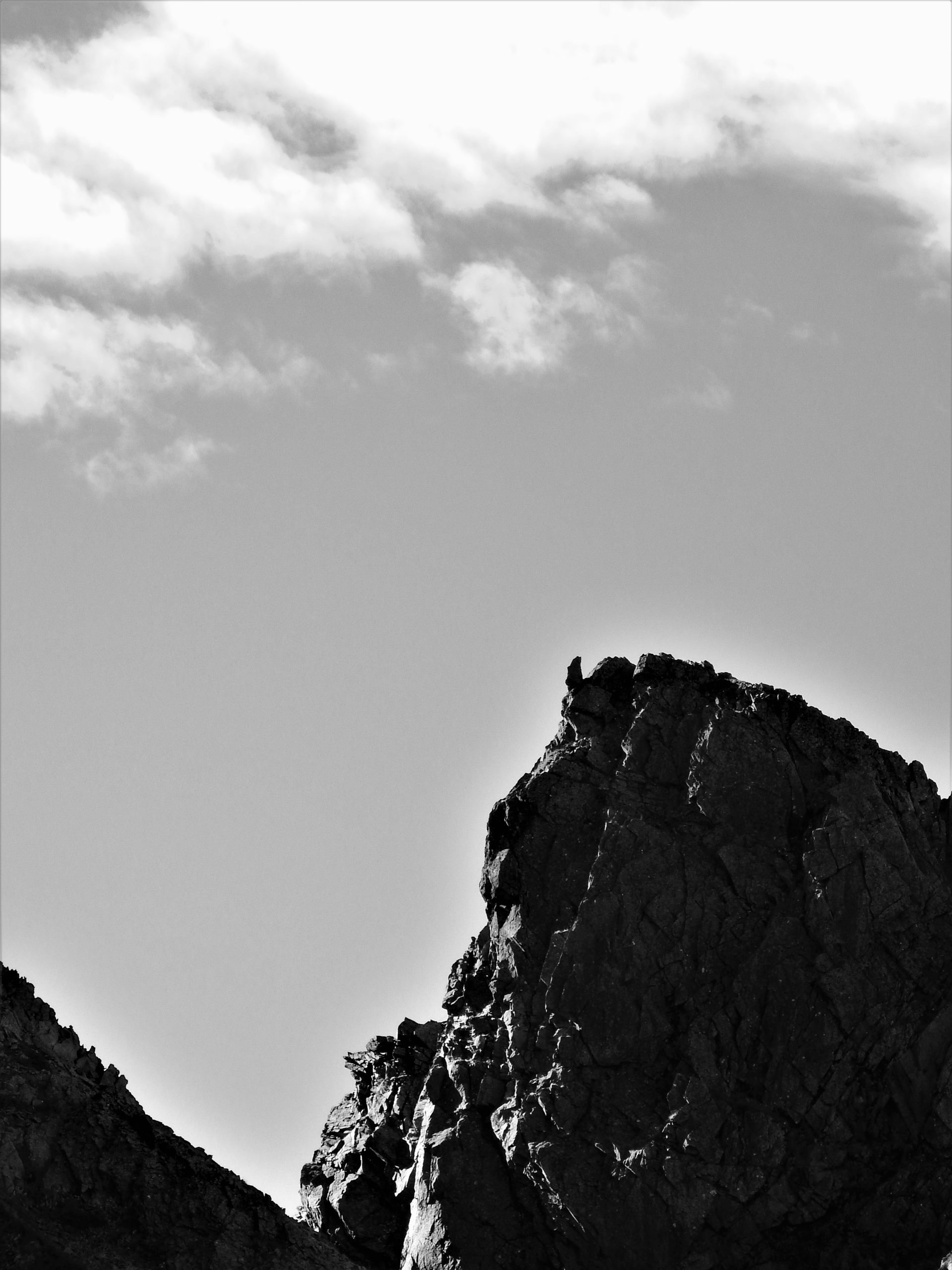 北アルプス 前穂高岳