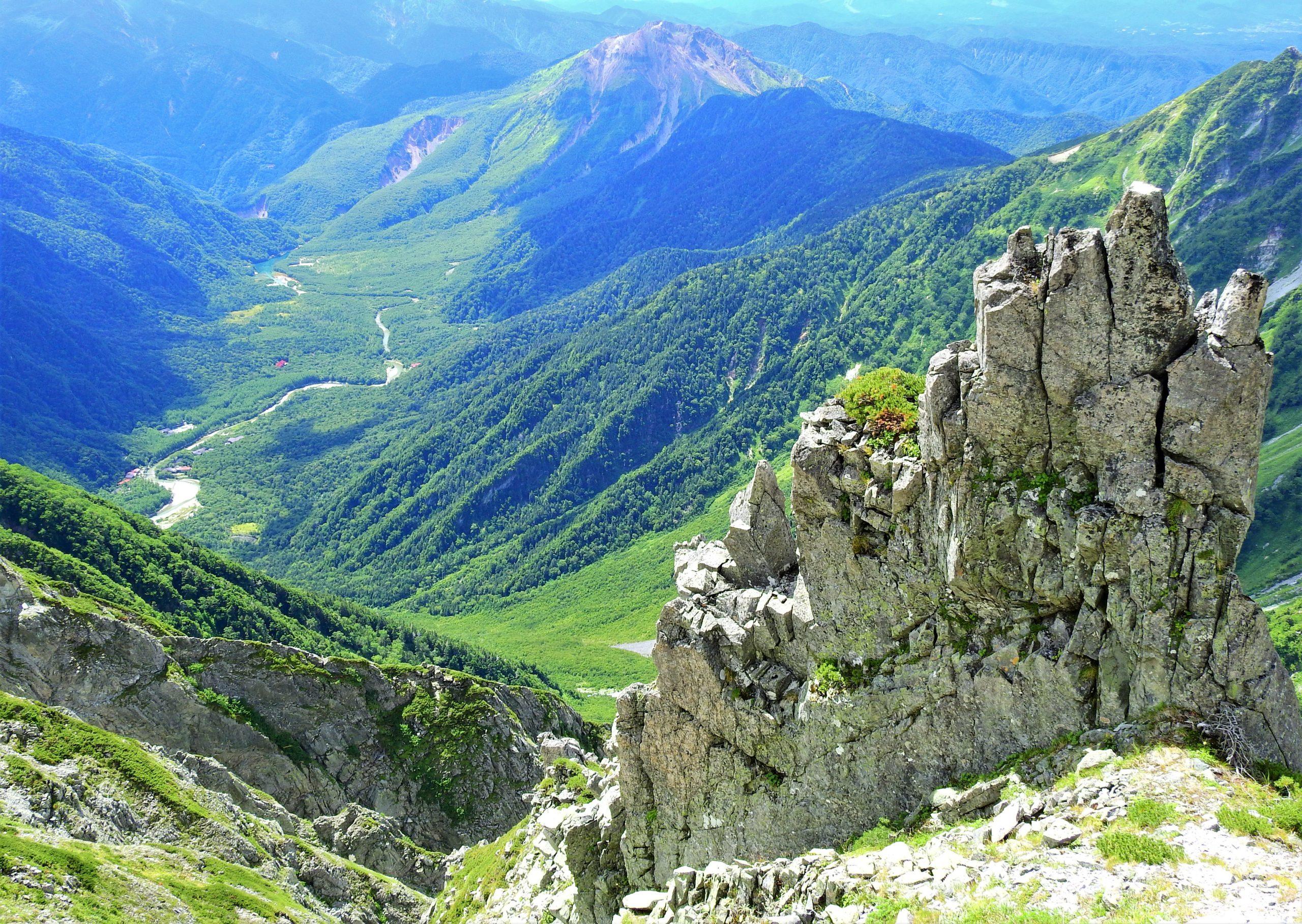 北アルプス 奥穂高岳