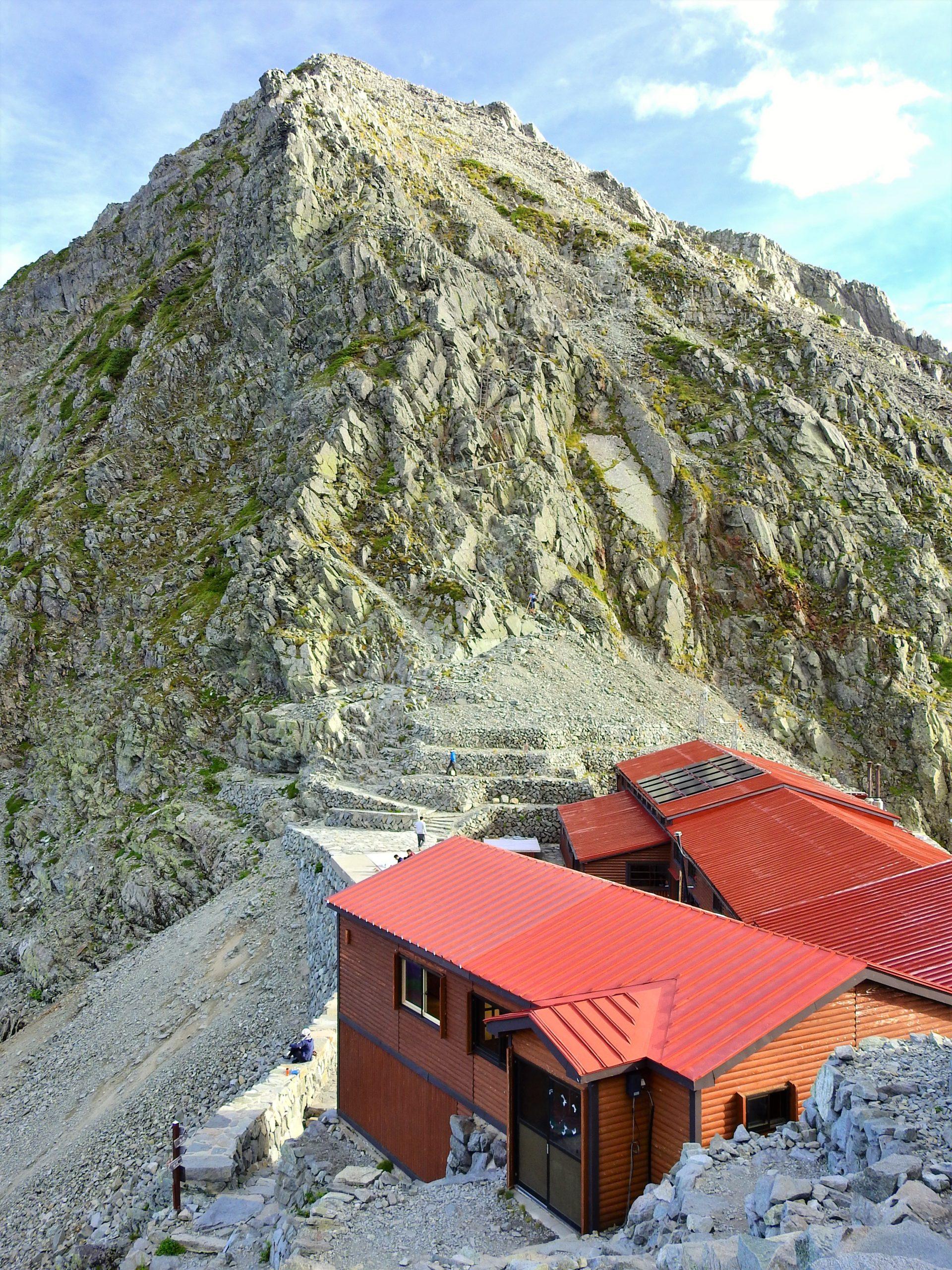 北アルプス 穂高岳山荘