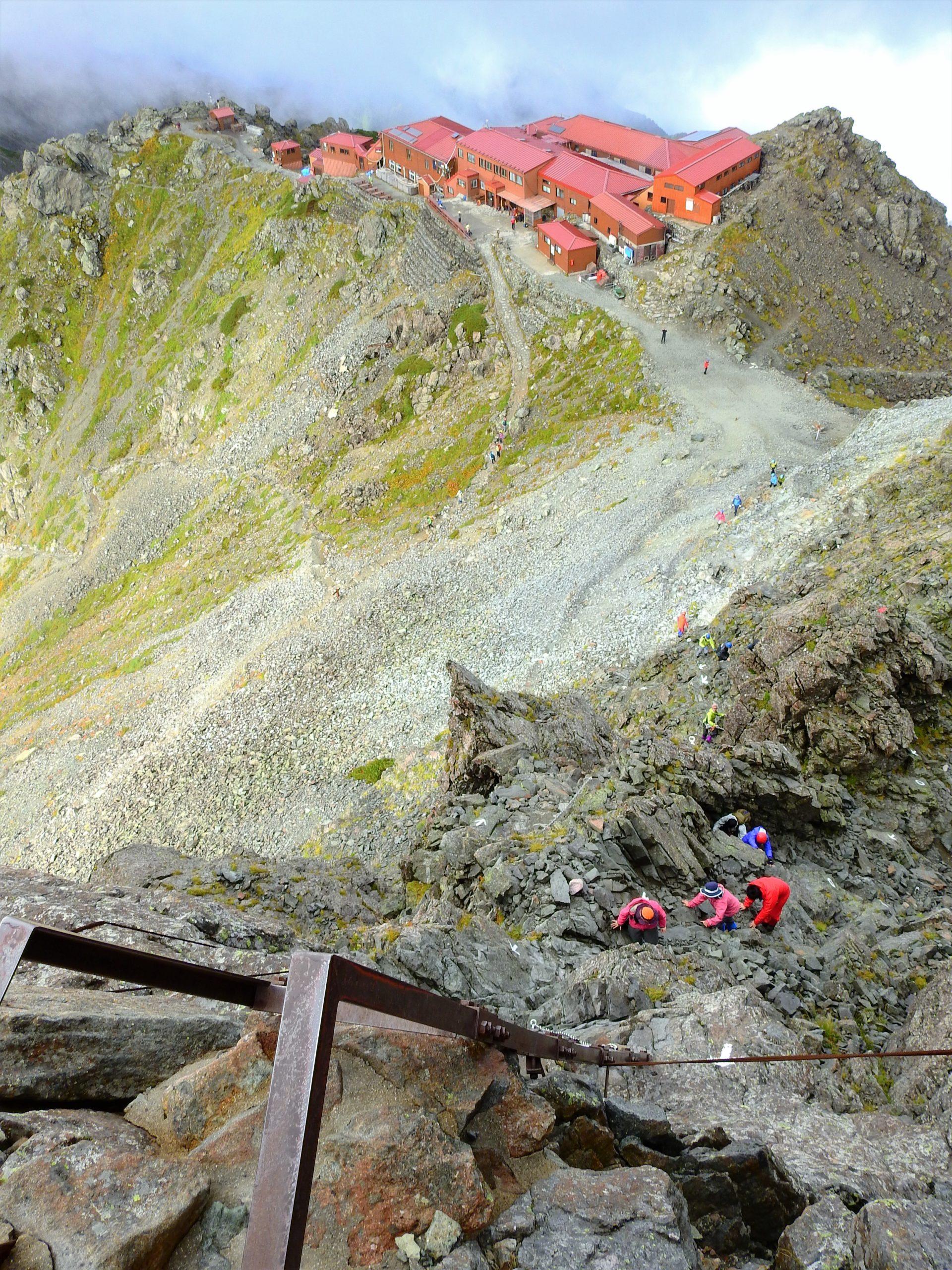 北アルプス 槍ヶ岳山荘