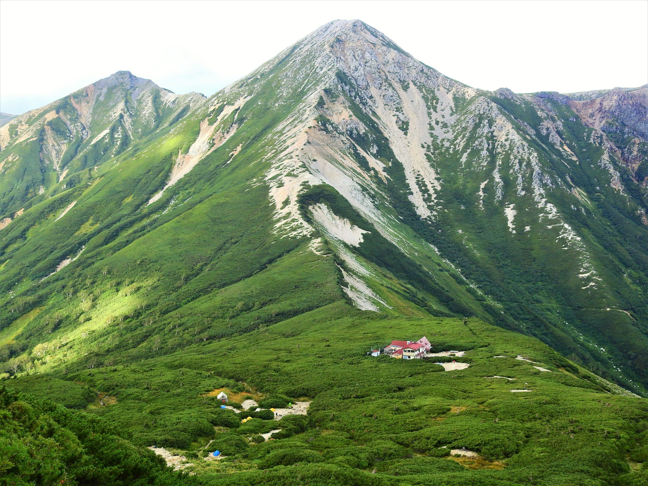北アルプス 鷲羽岳