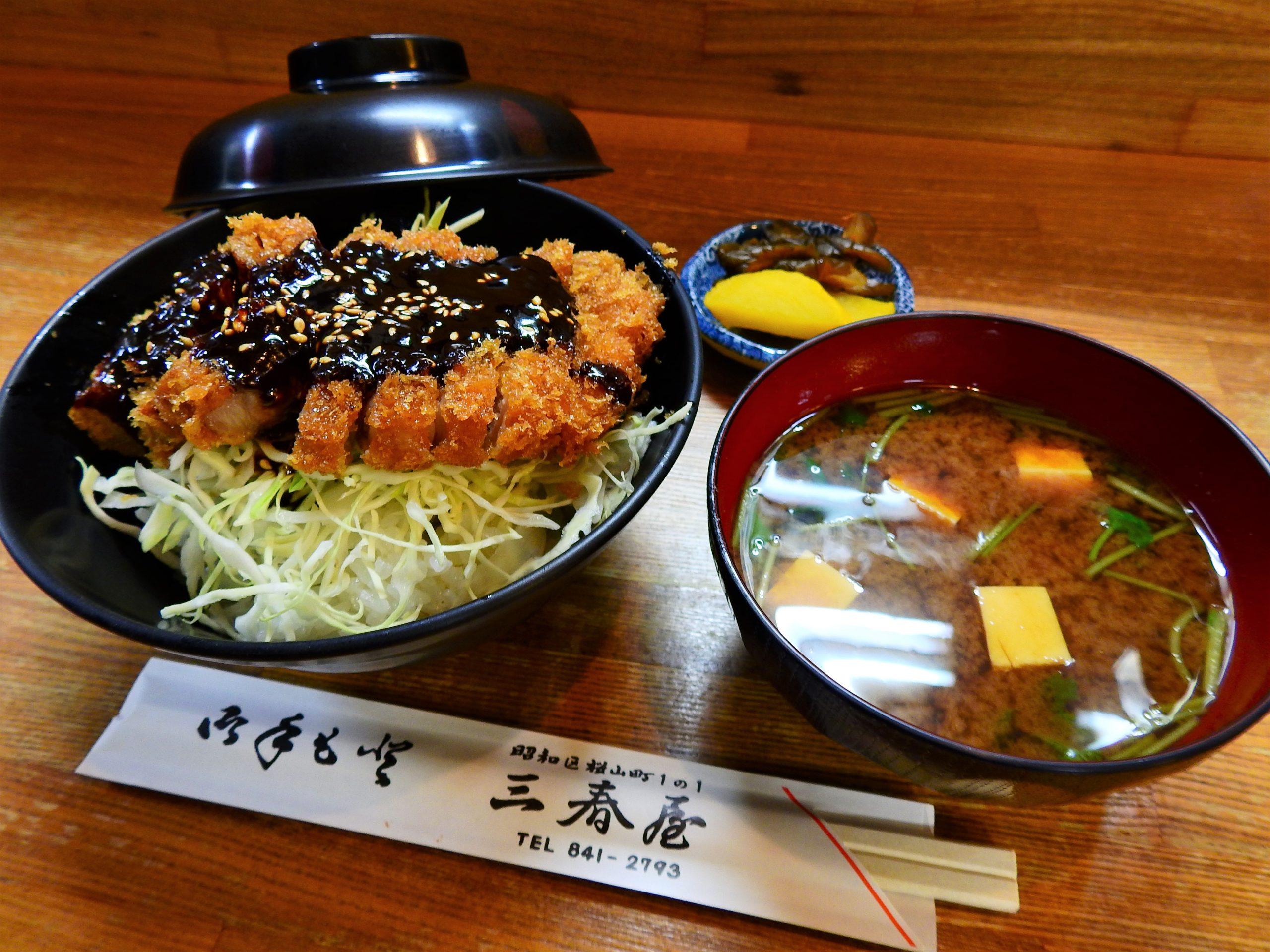 日本一周 旅飯 味噌カツ