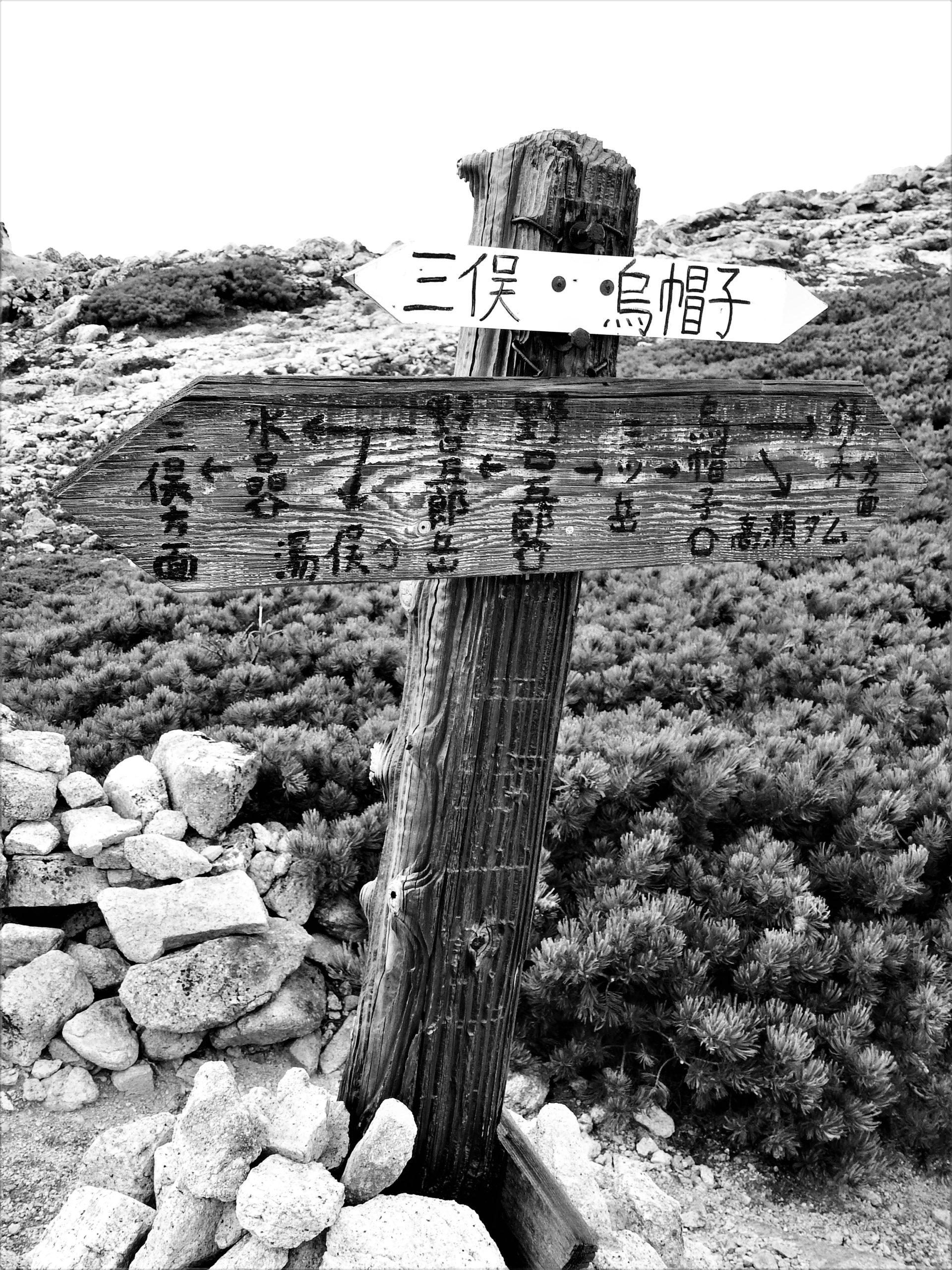 北アルプス 野口五郎岳