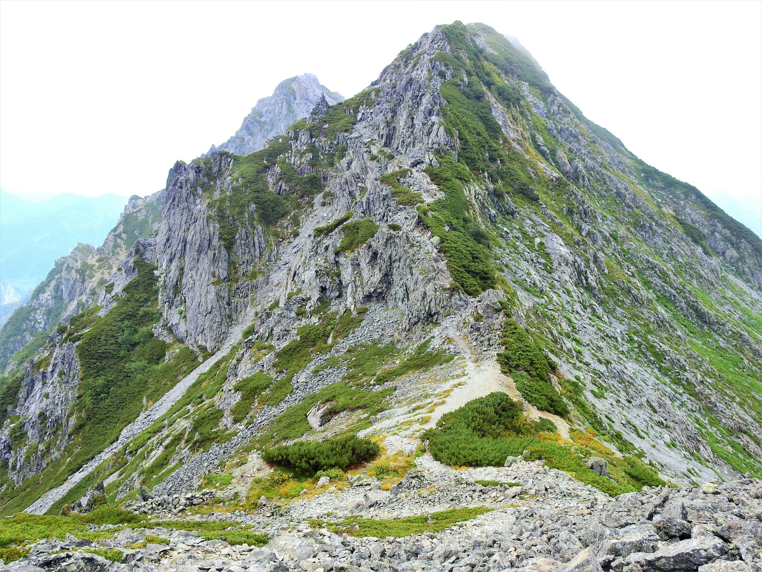 北アルプス スバリ岳