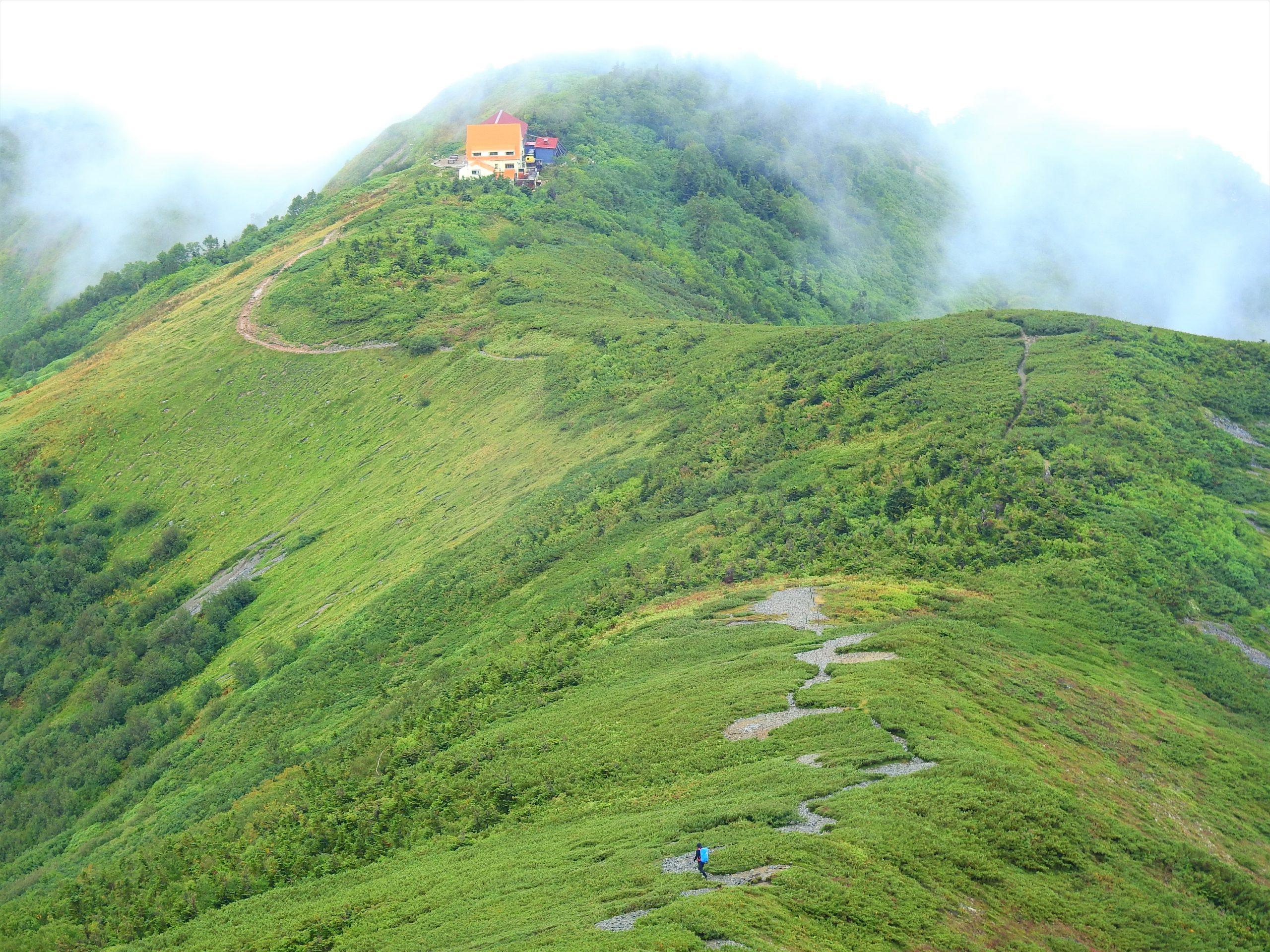 北アルプス 爺ヶ岳