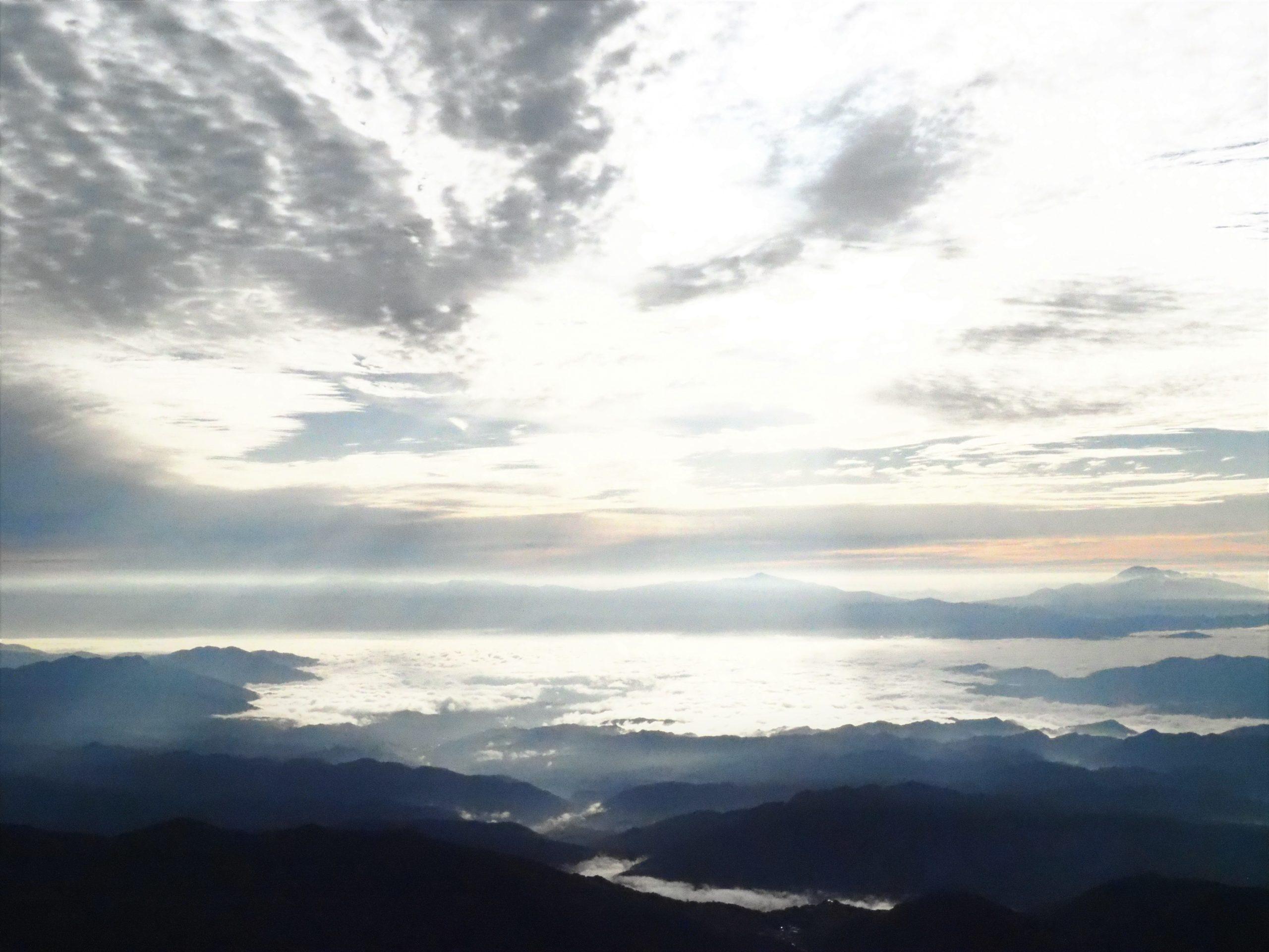北アルプス 後立山連峰