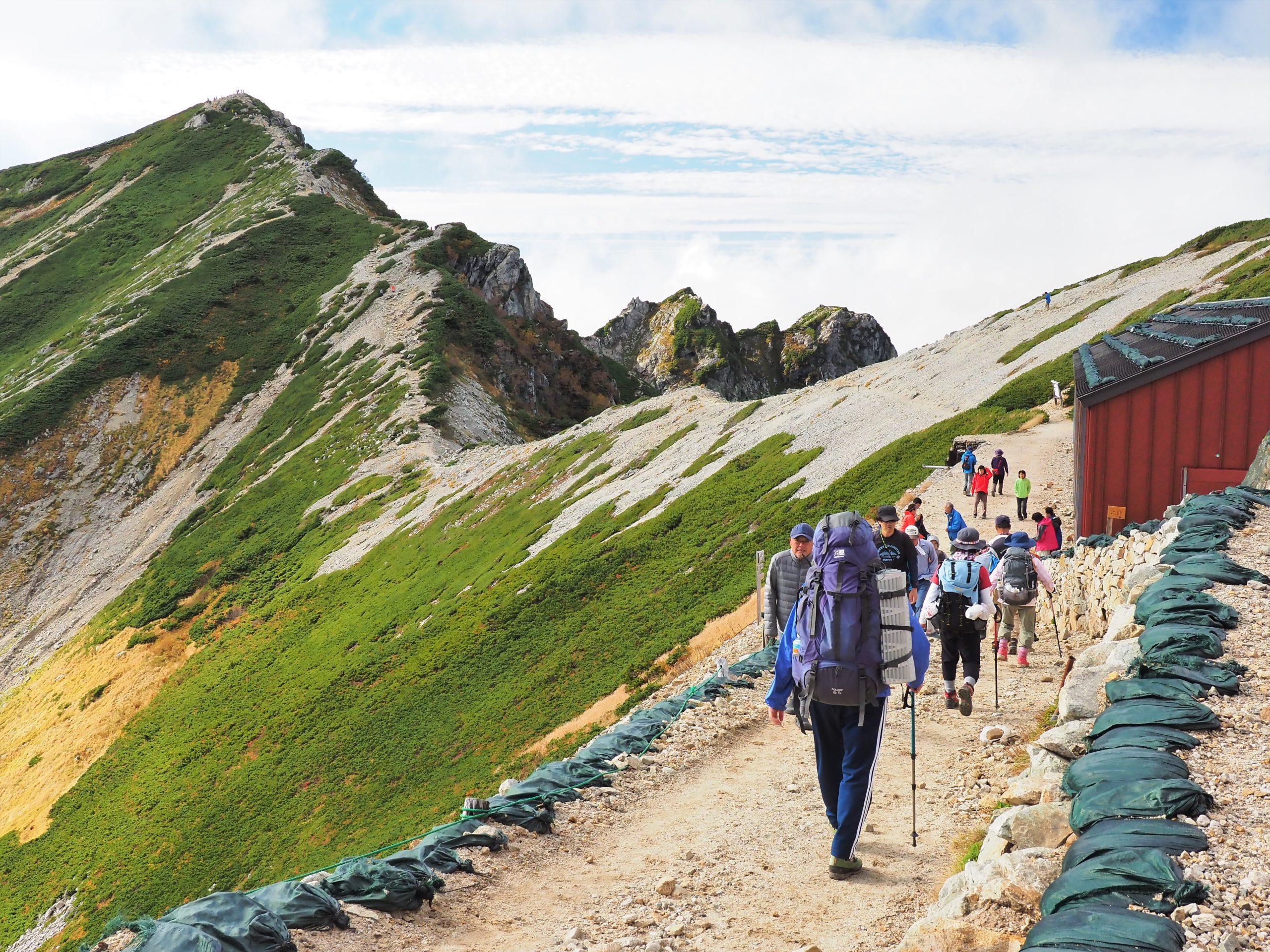 北アルプス 唐松岳頂上山荘