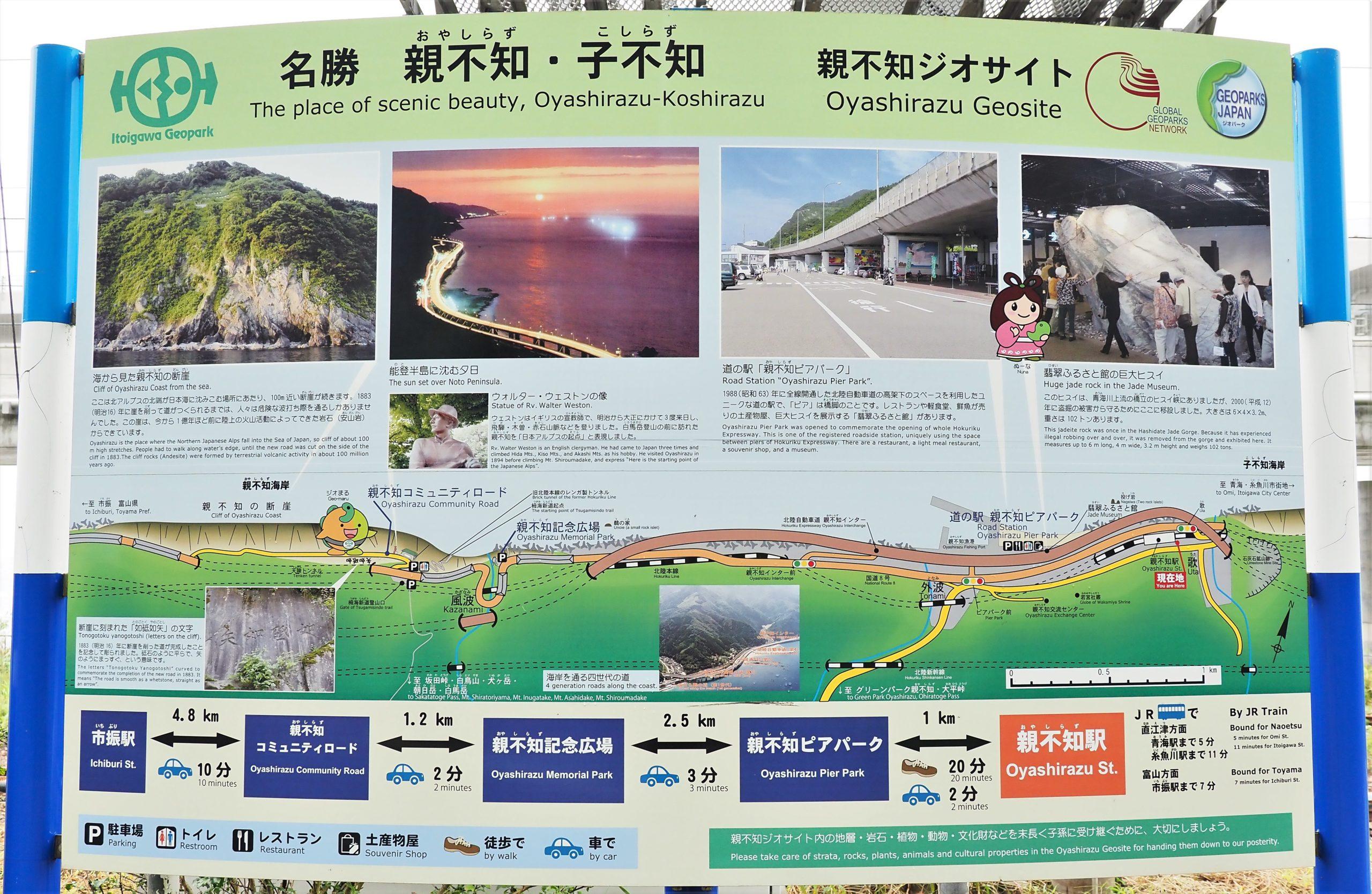 新潟県 親不知駅