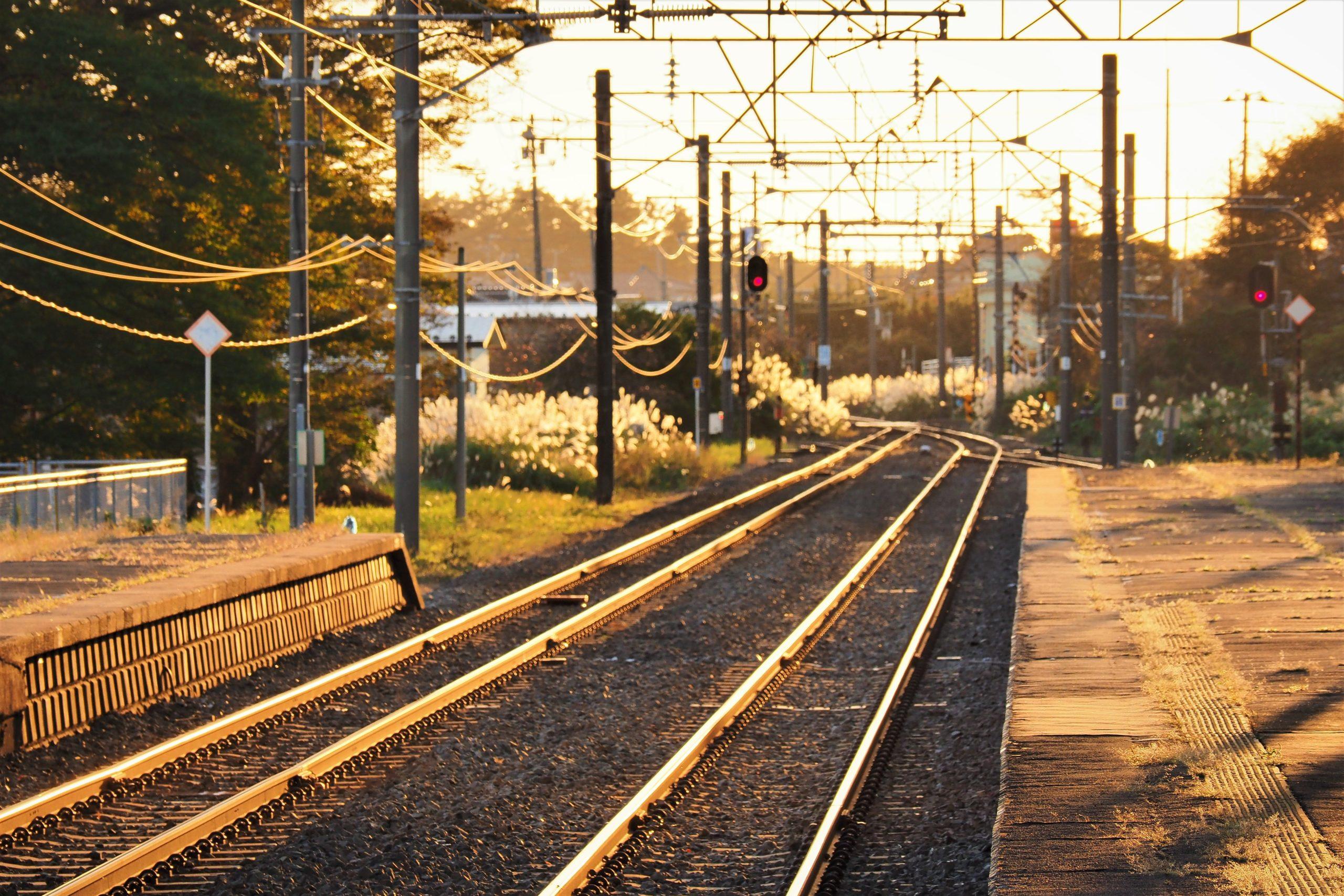 秋田県 西目駅
