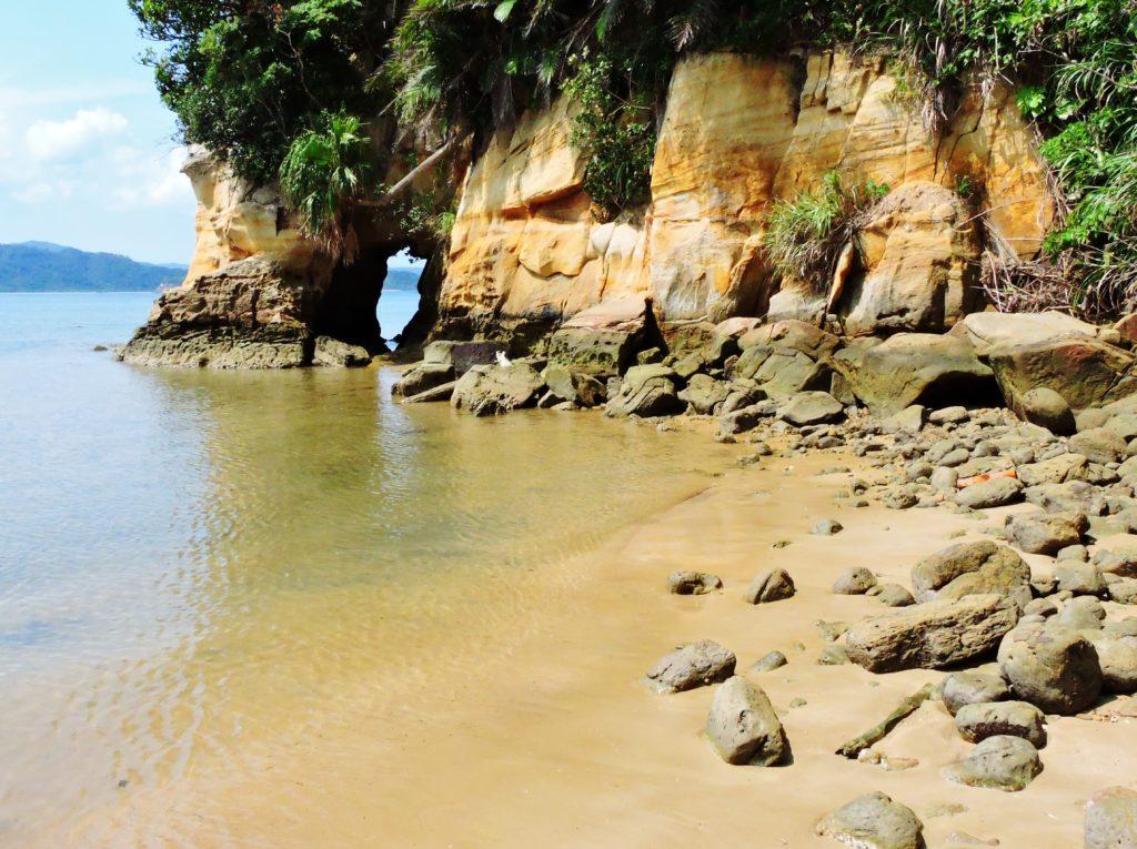 沖縄県 西表島 祖納ビーチ