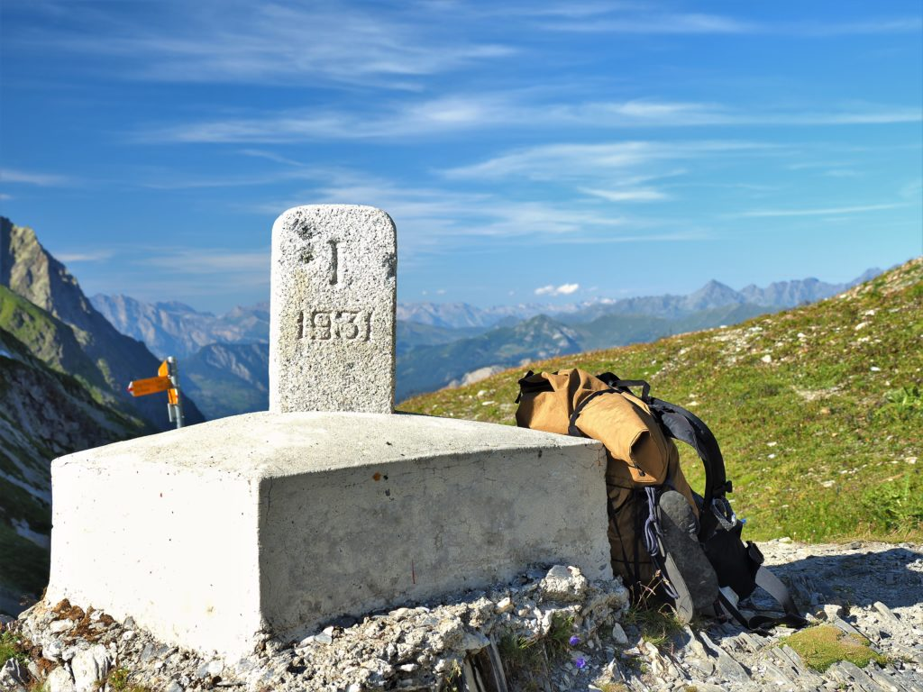 イタリア ツール・ド・モンブラン Pettit Col Ferret