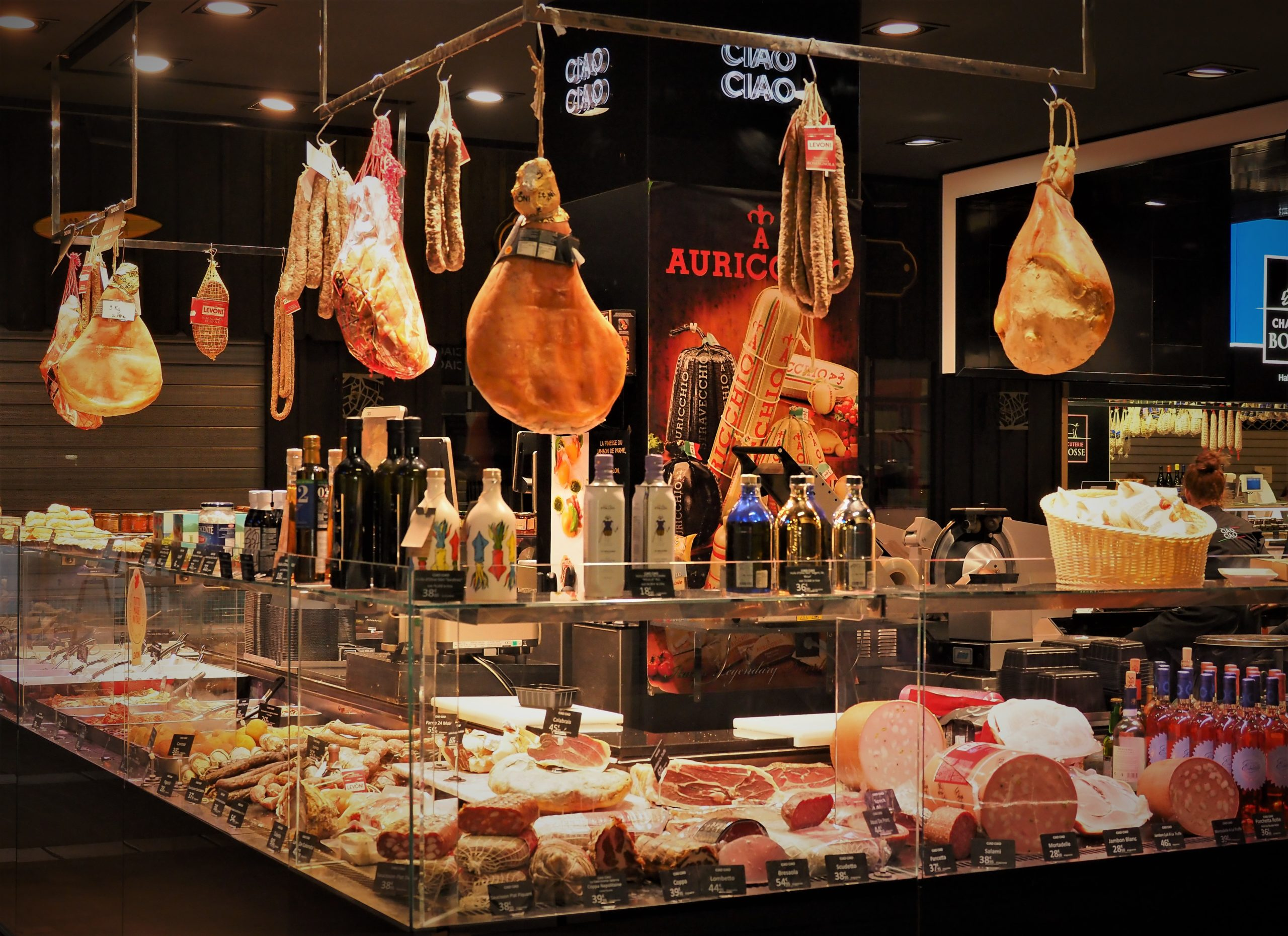 フランス リヨン中央市場 ポール・ボキューズ市場