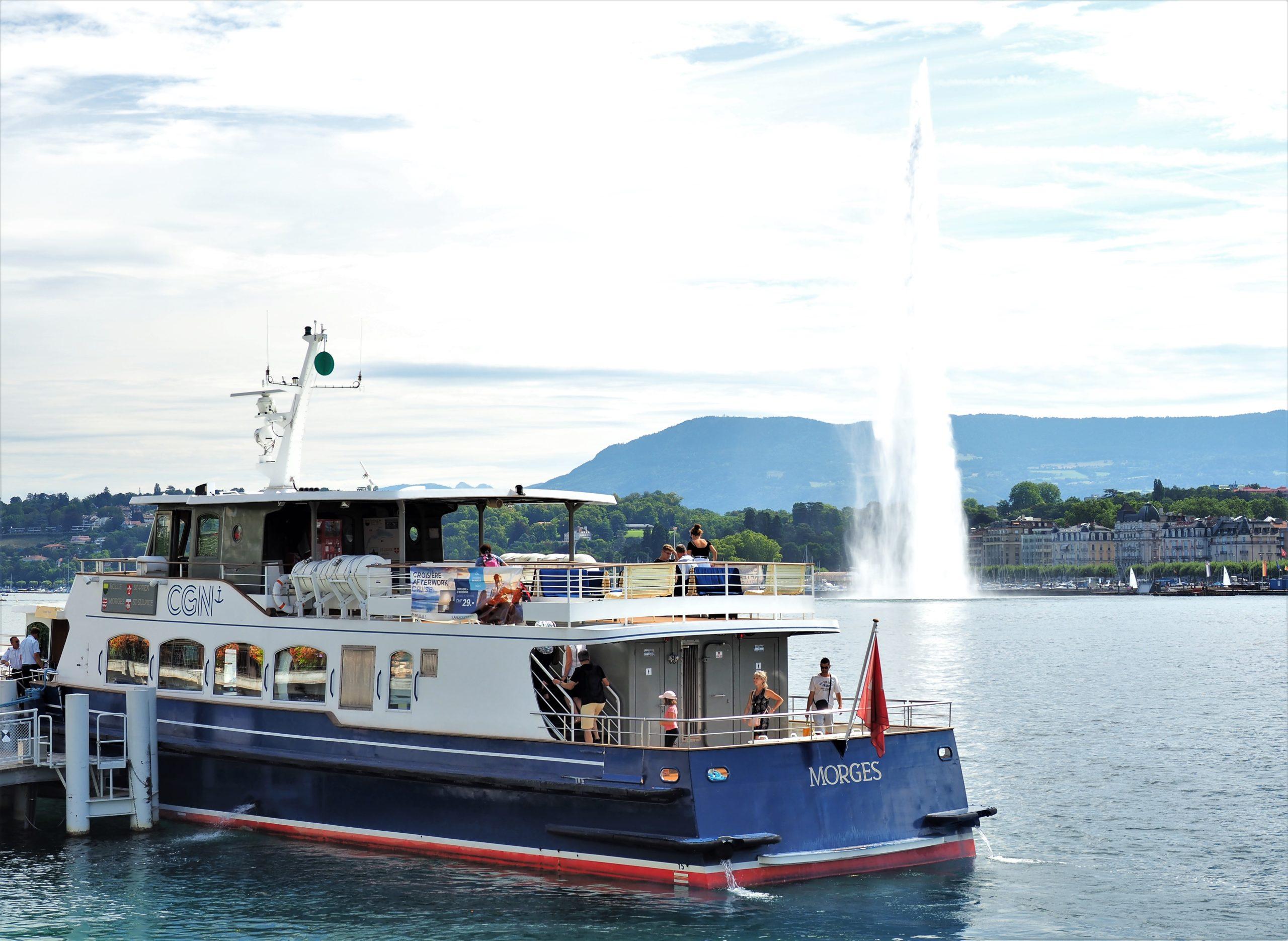 スイス ジュネーヴ レマン湖