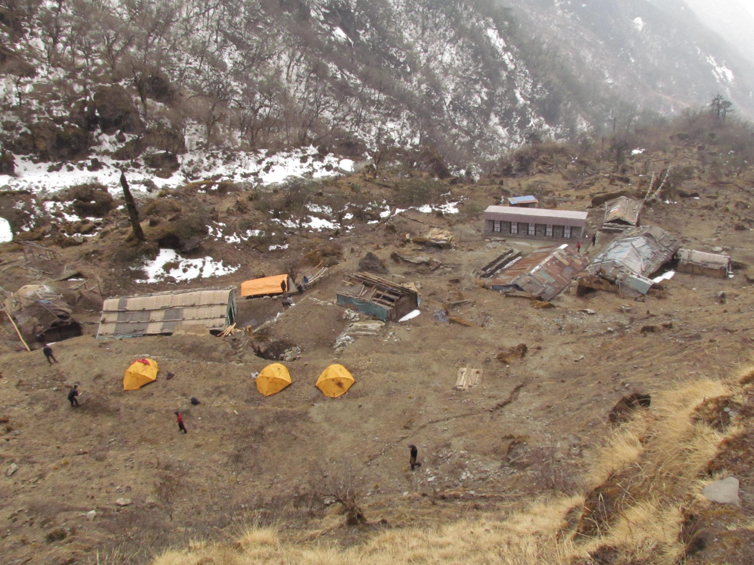 ネパール メラ・ピーク Chutanga