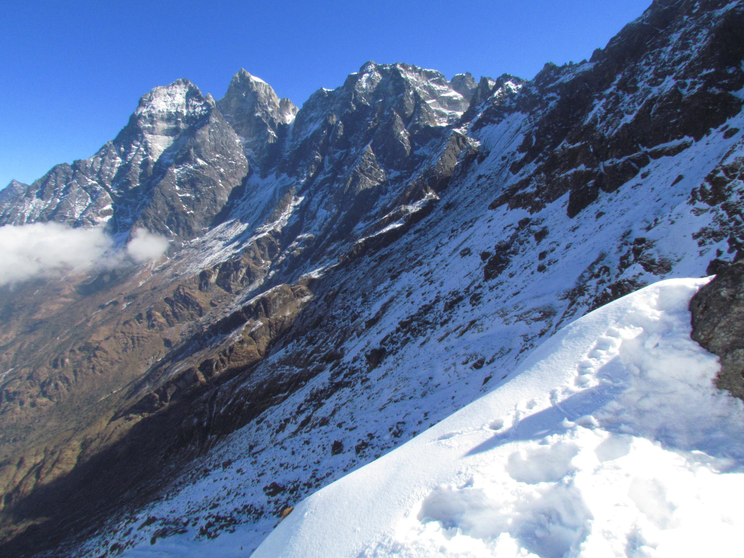 ネパール メラ・ピーク