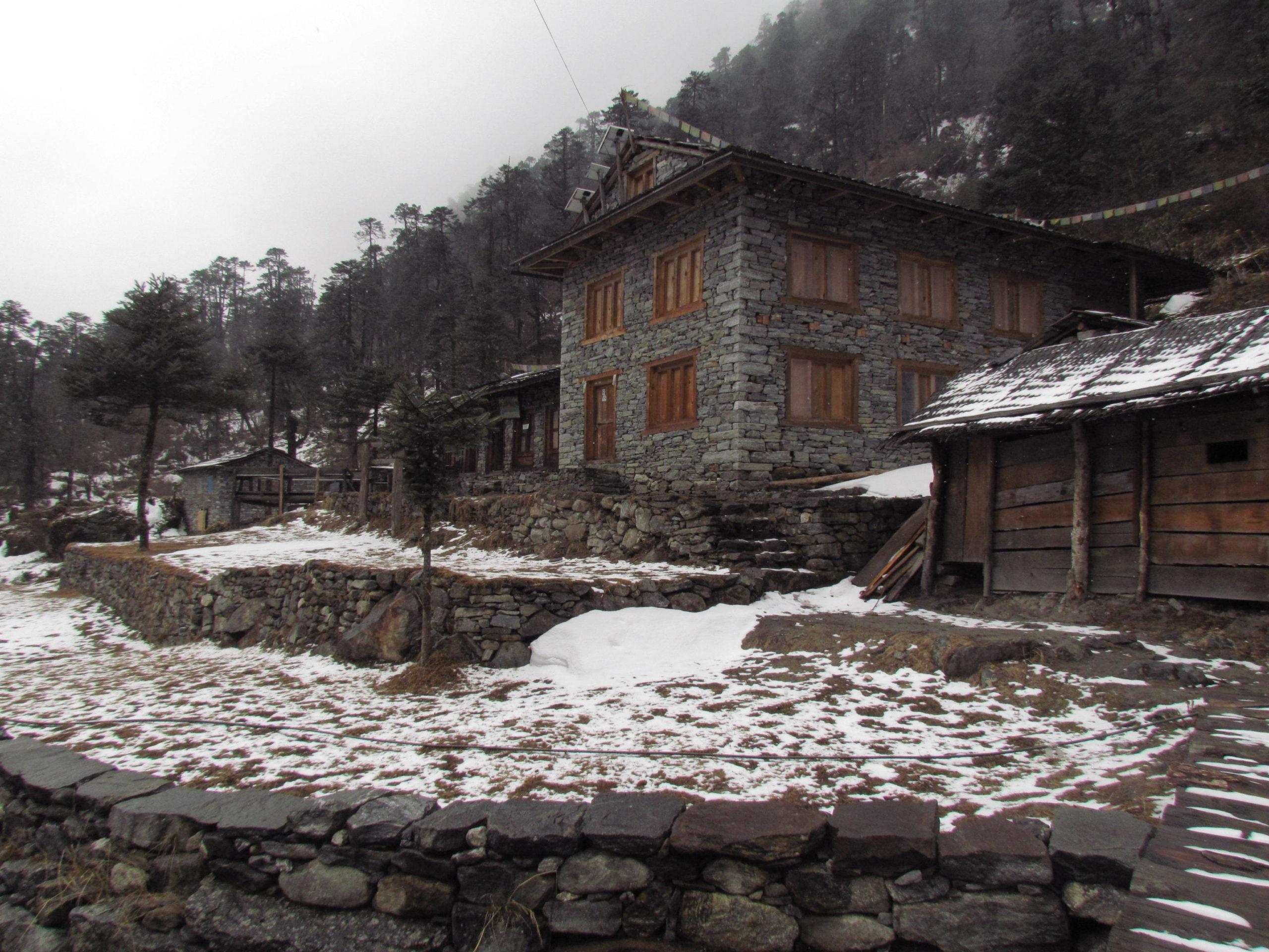 ネパール メラ・ピーク Kote
