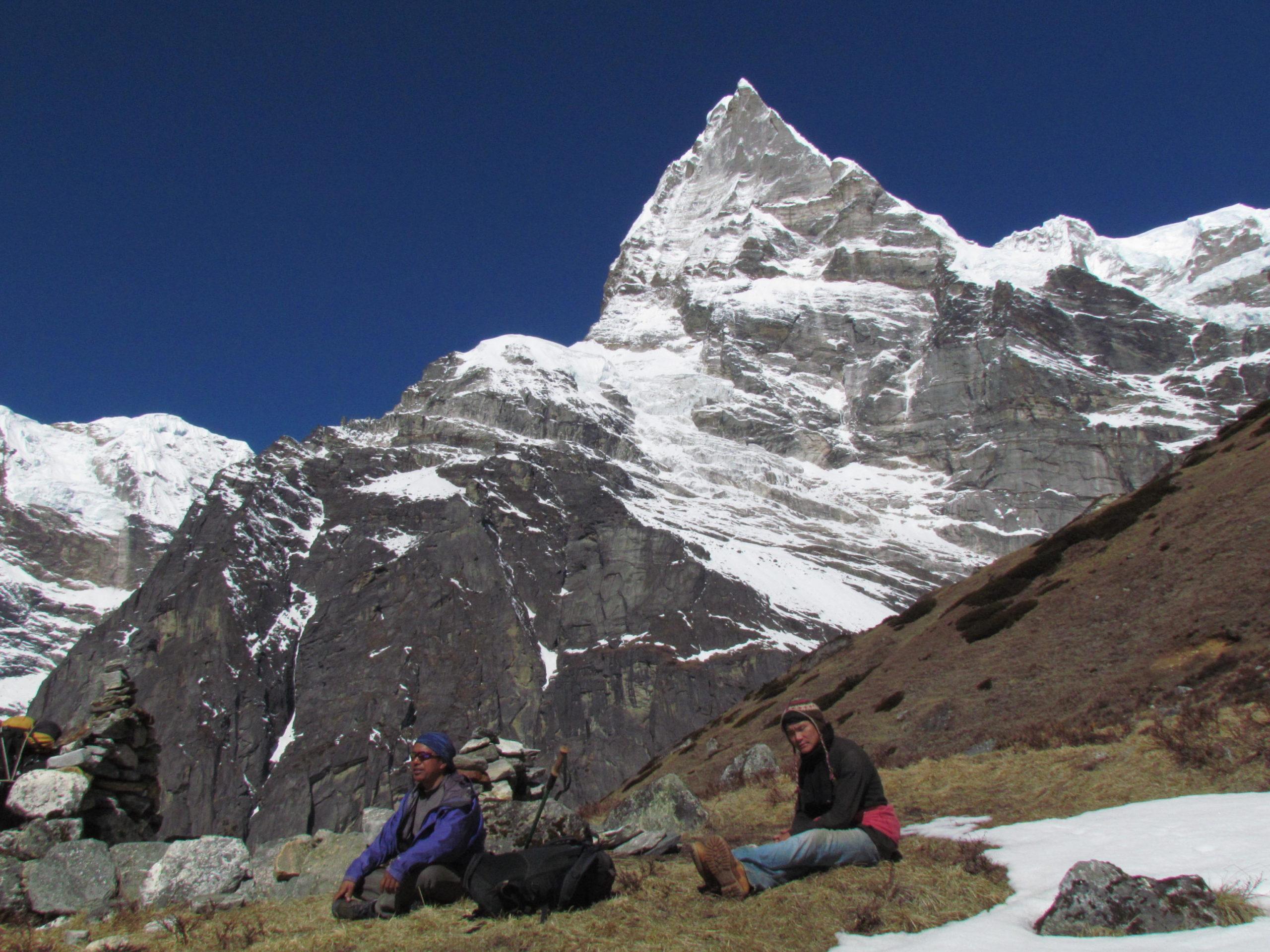 ネパール メラ・ピーク Peak.48