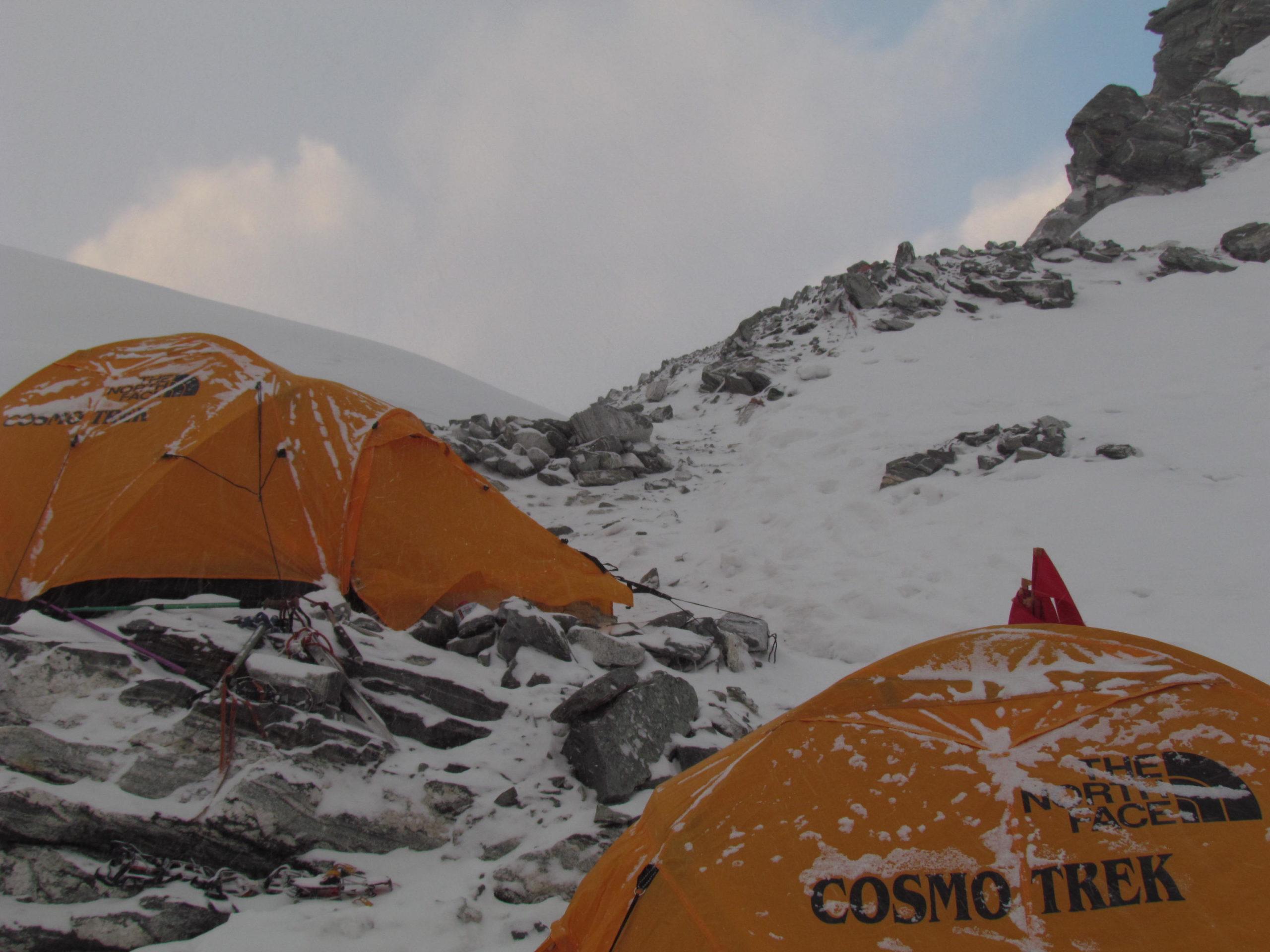 ネパール メラ・ピーク High Camp