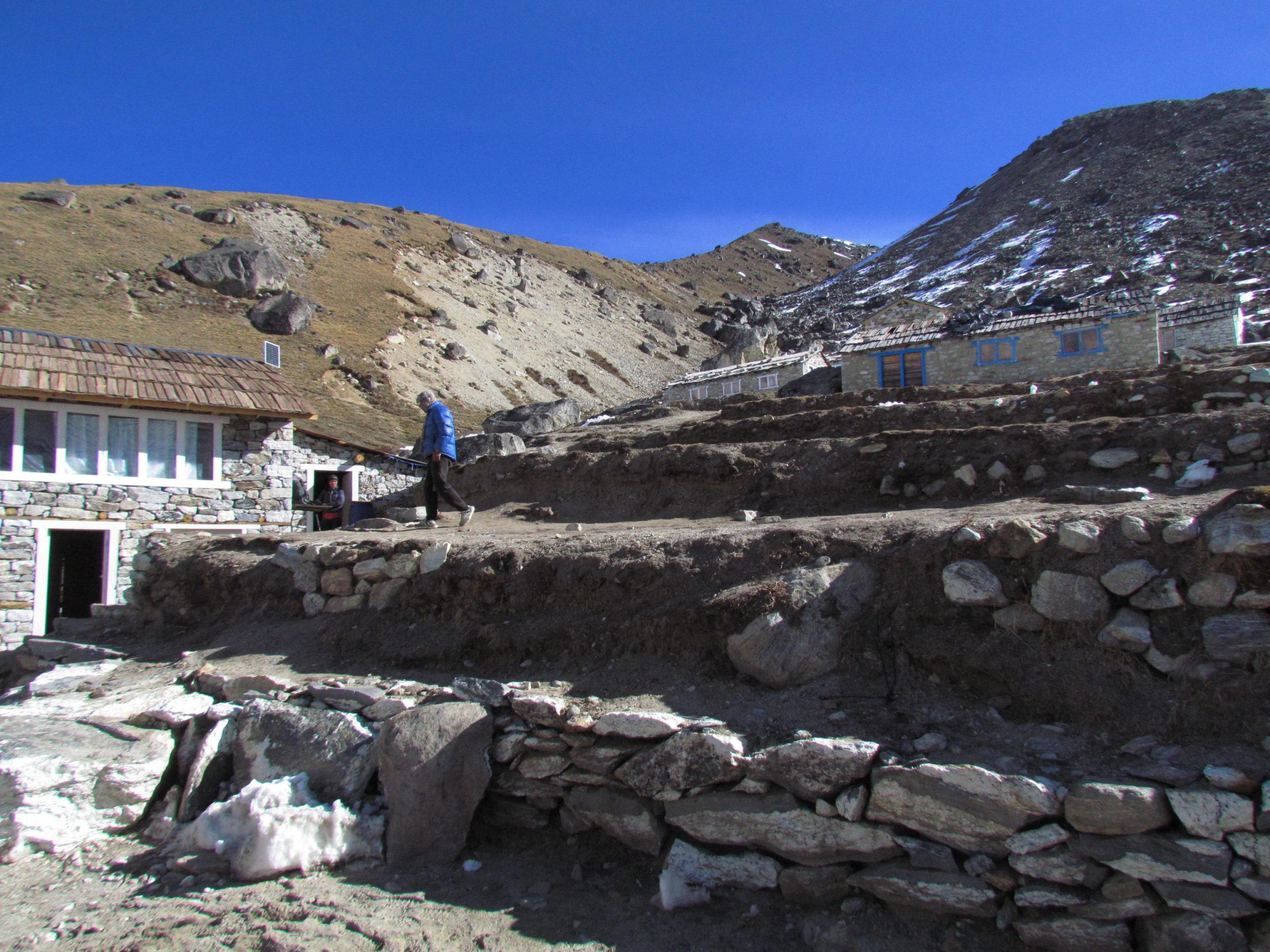 ネパール メラ・ピーク Khare Camp