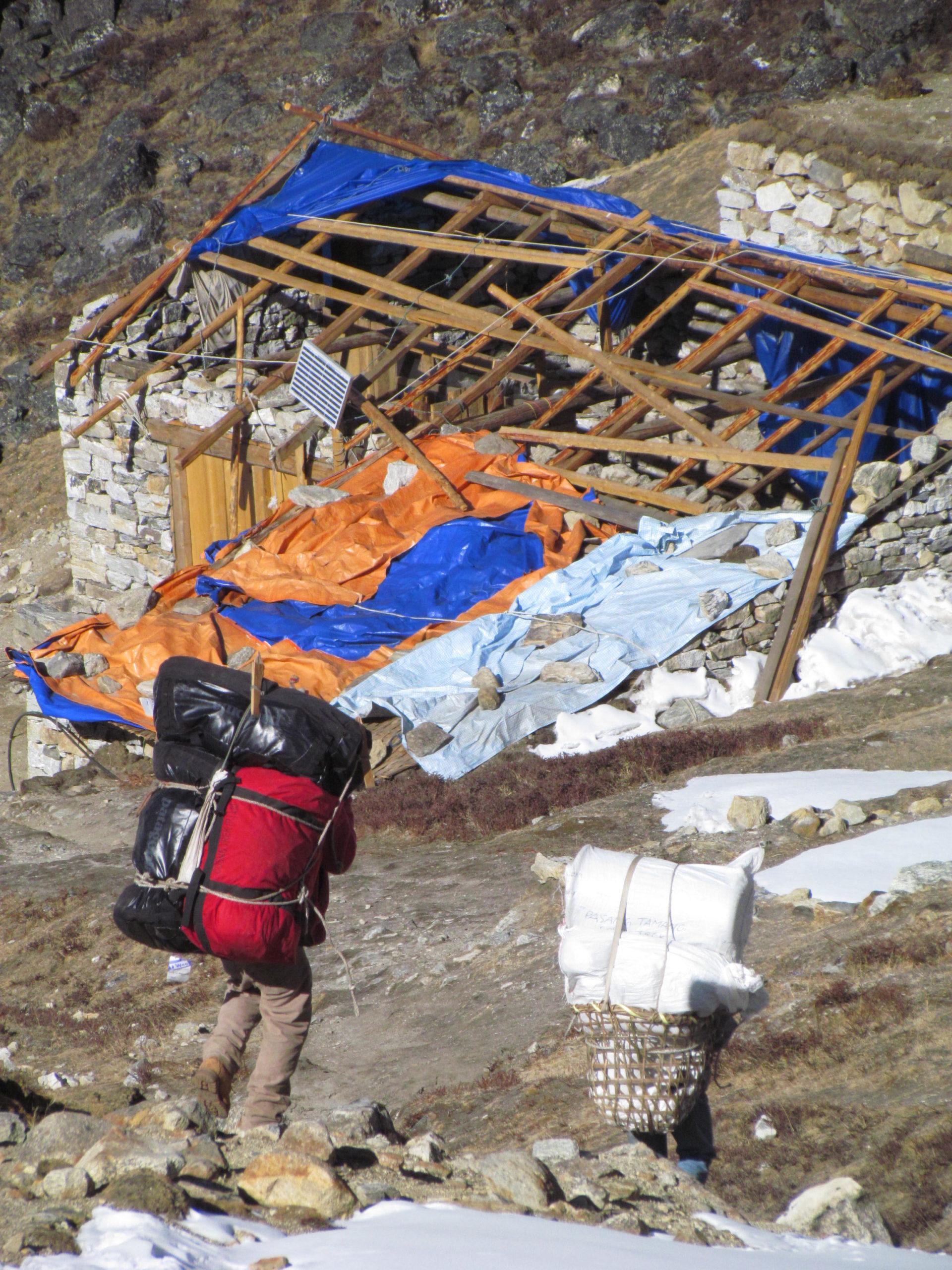 ネパール メラ・ピーク Tagnag
