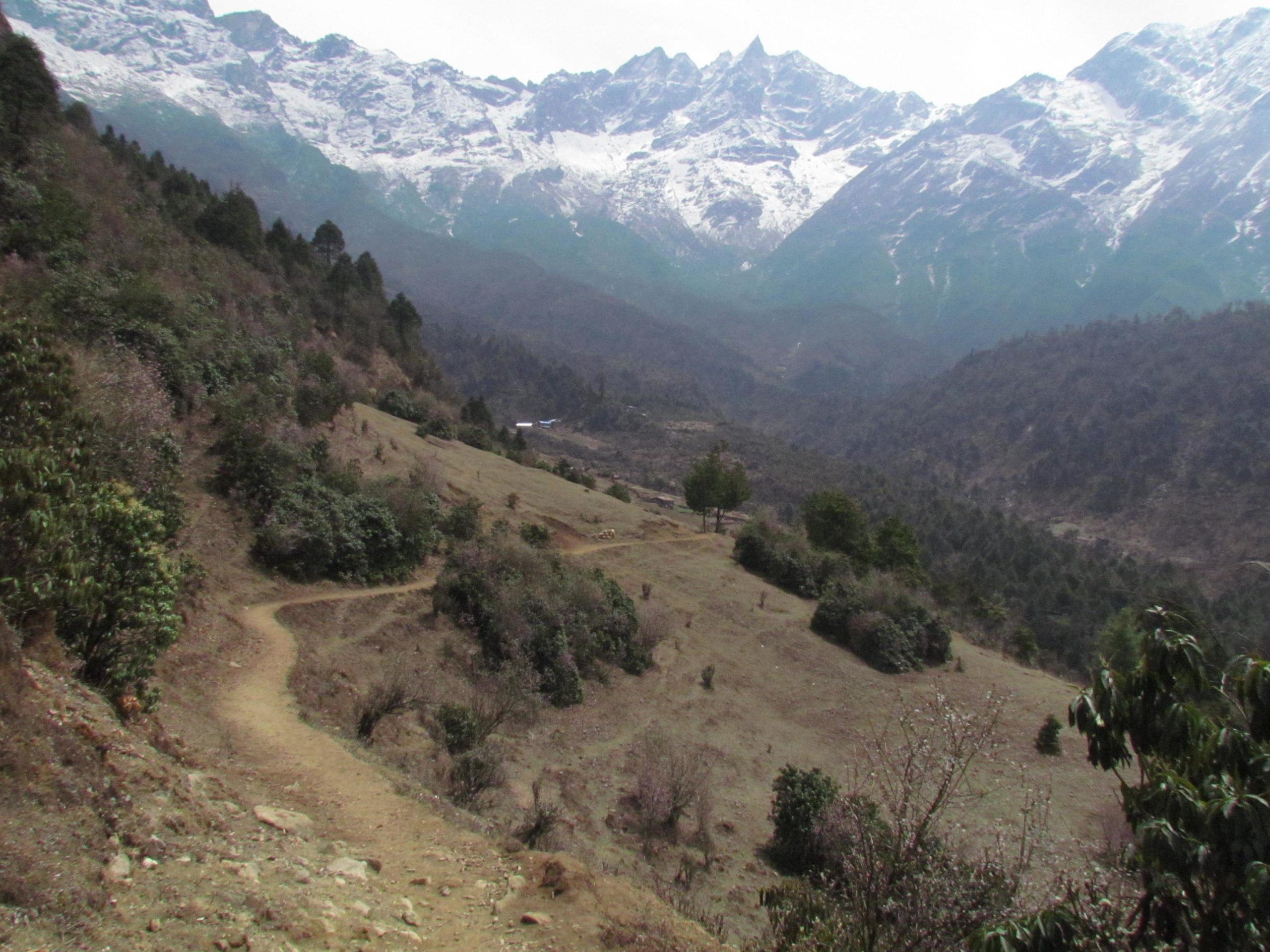 ネパール メラ・ピーク ルクラ周辺