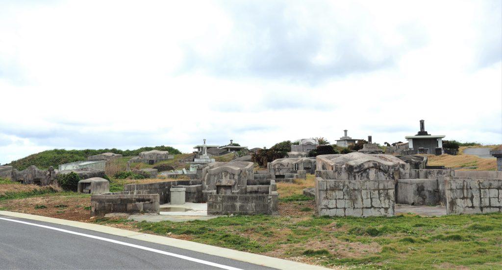 沖縄県 与那国島 浦野墓地群