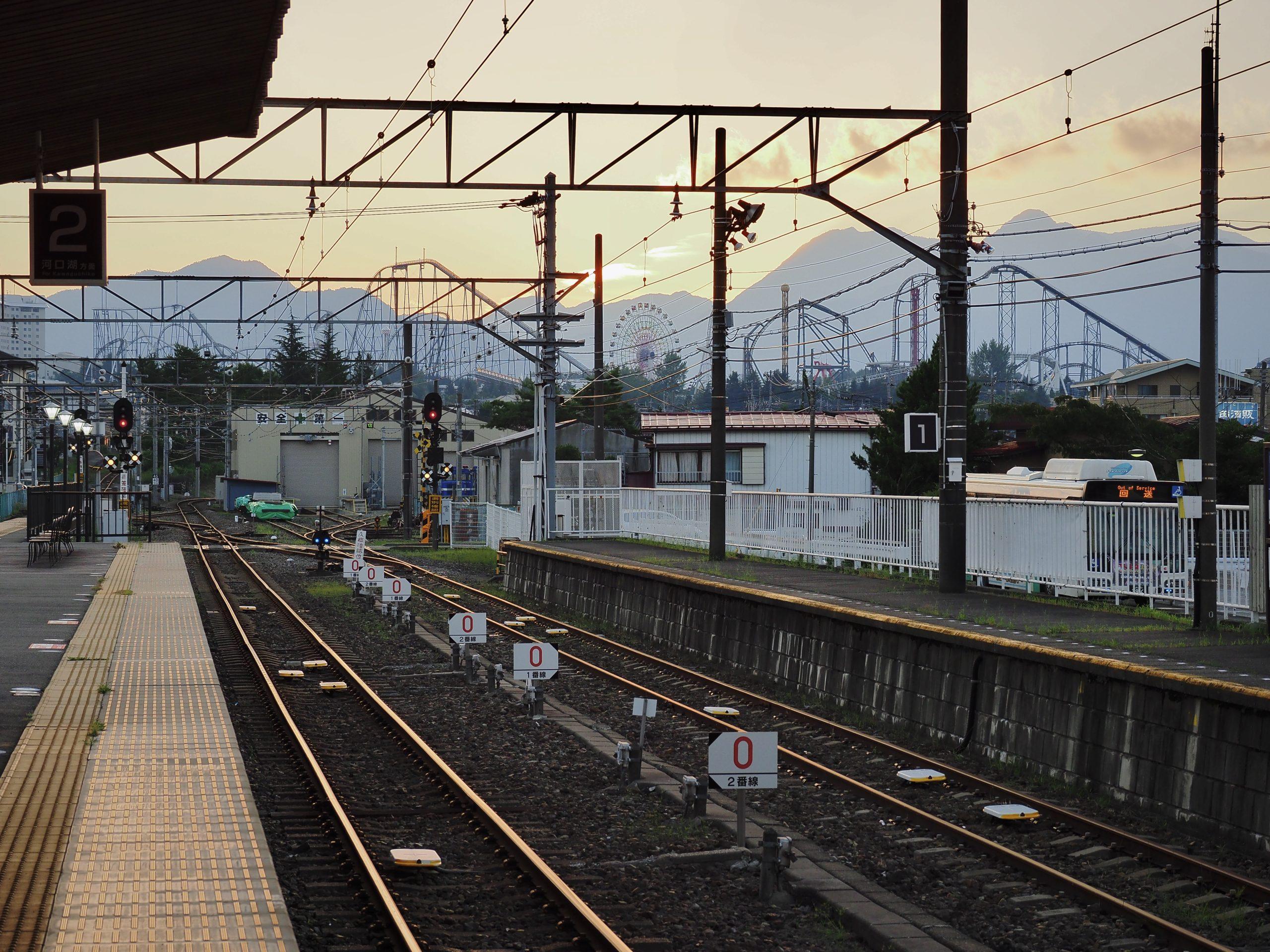 山梨県 富士山駅