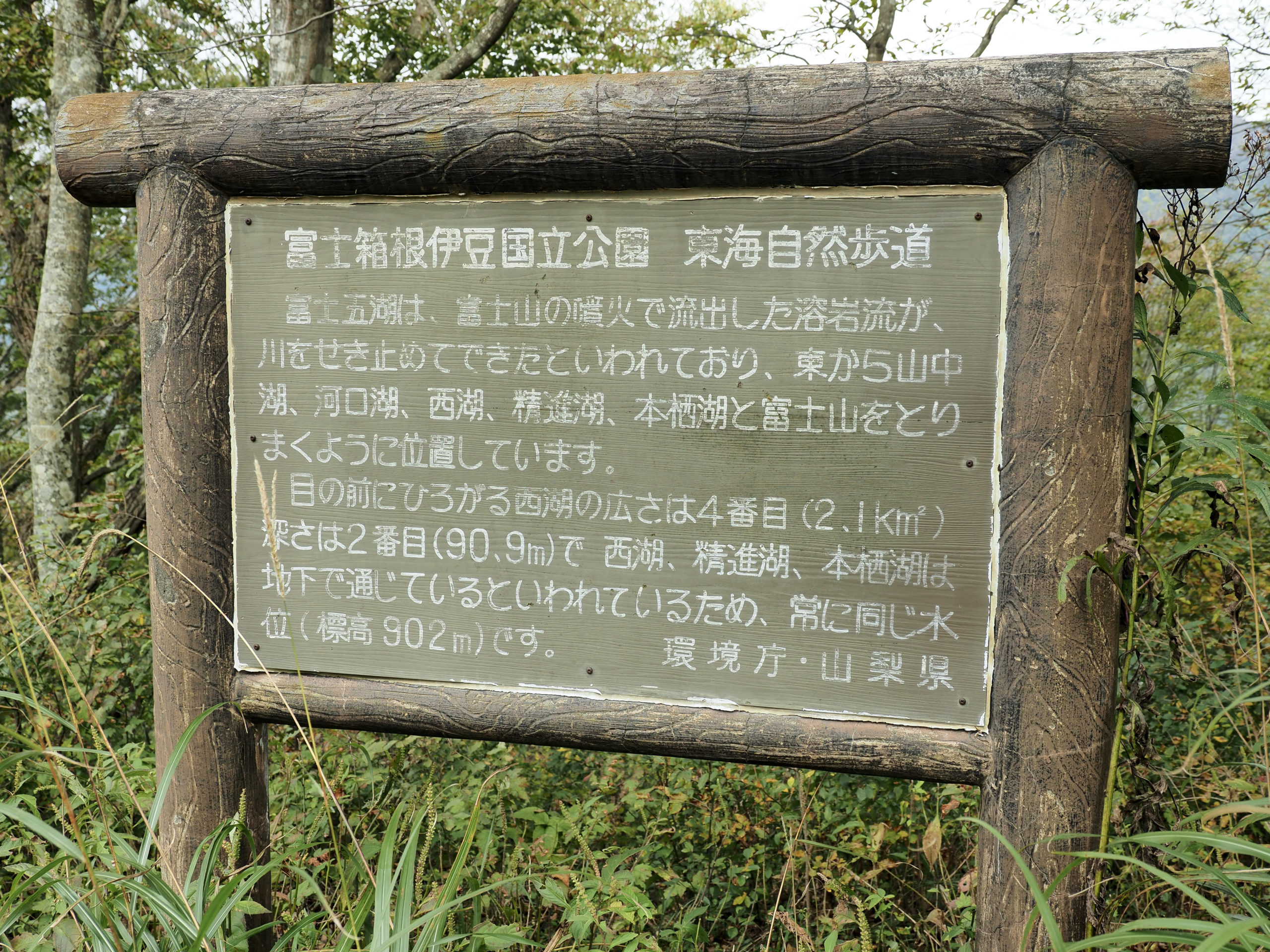 山梨県 三湖台