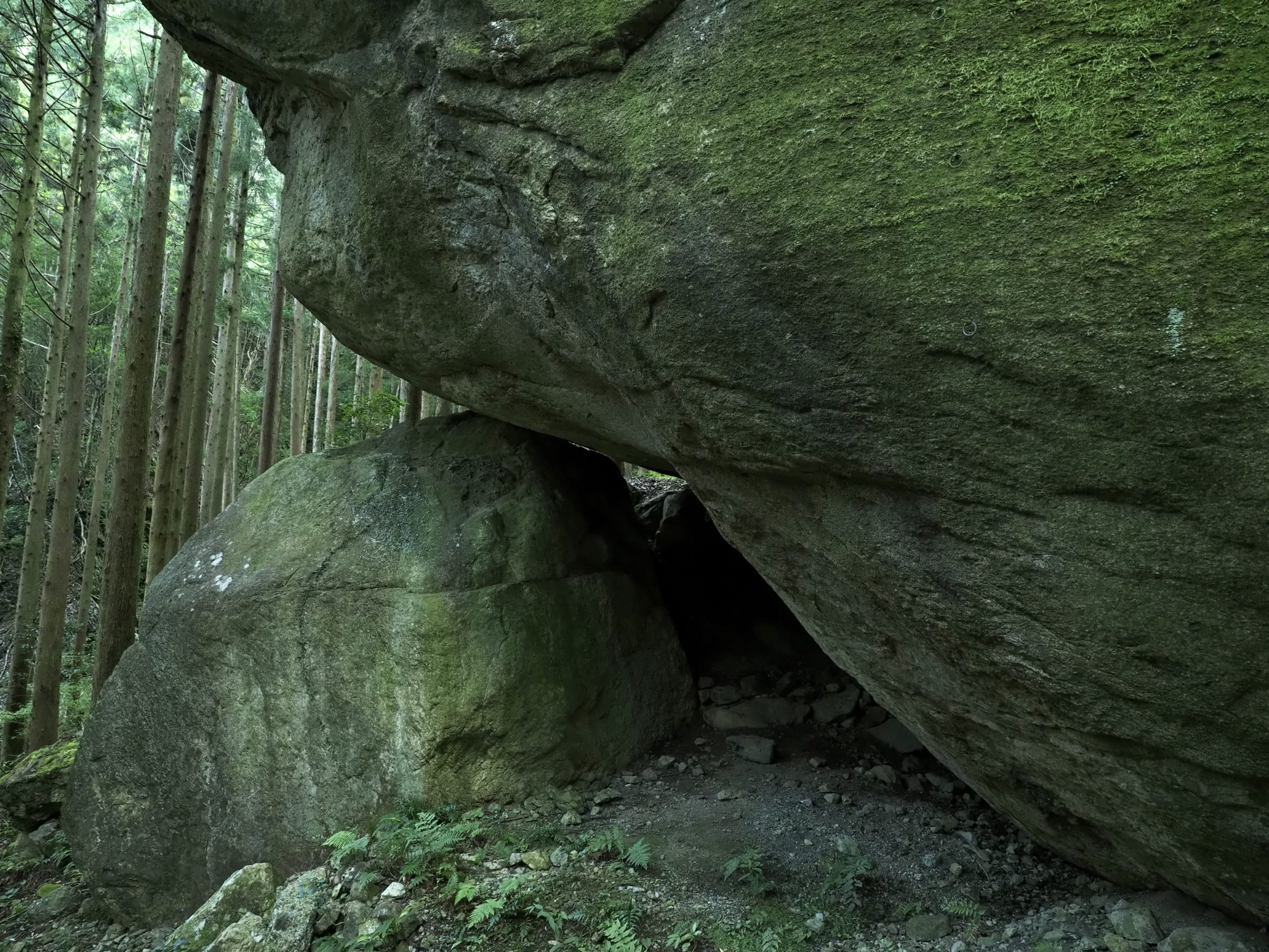 静岡県 軍艦岩