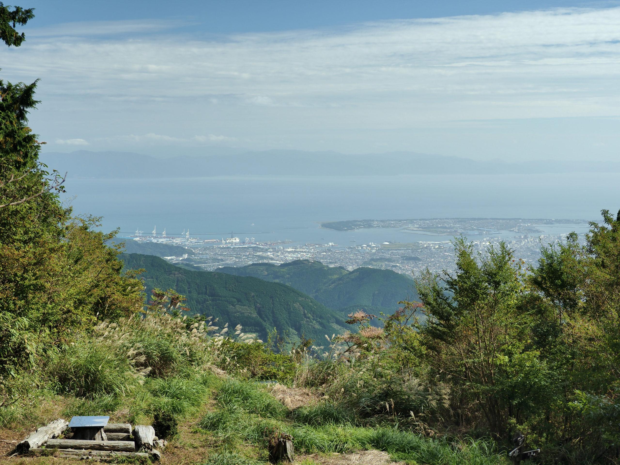 静岡県 竜爪山 文殊岳