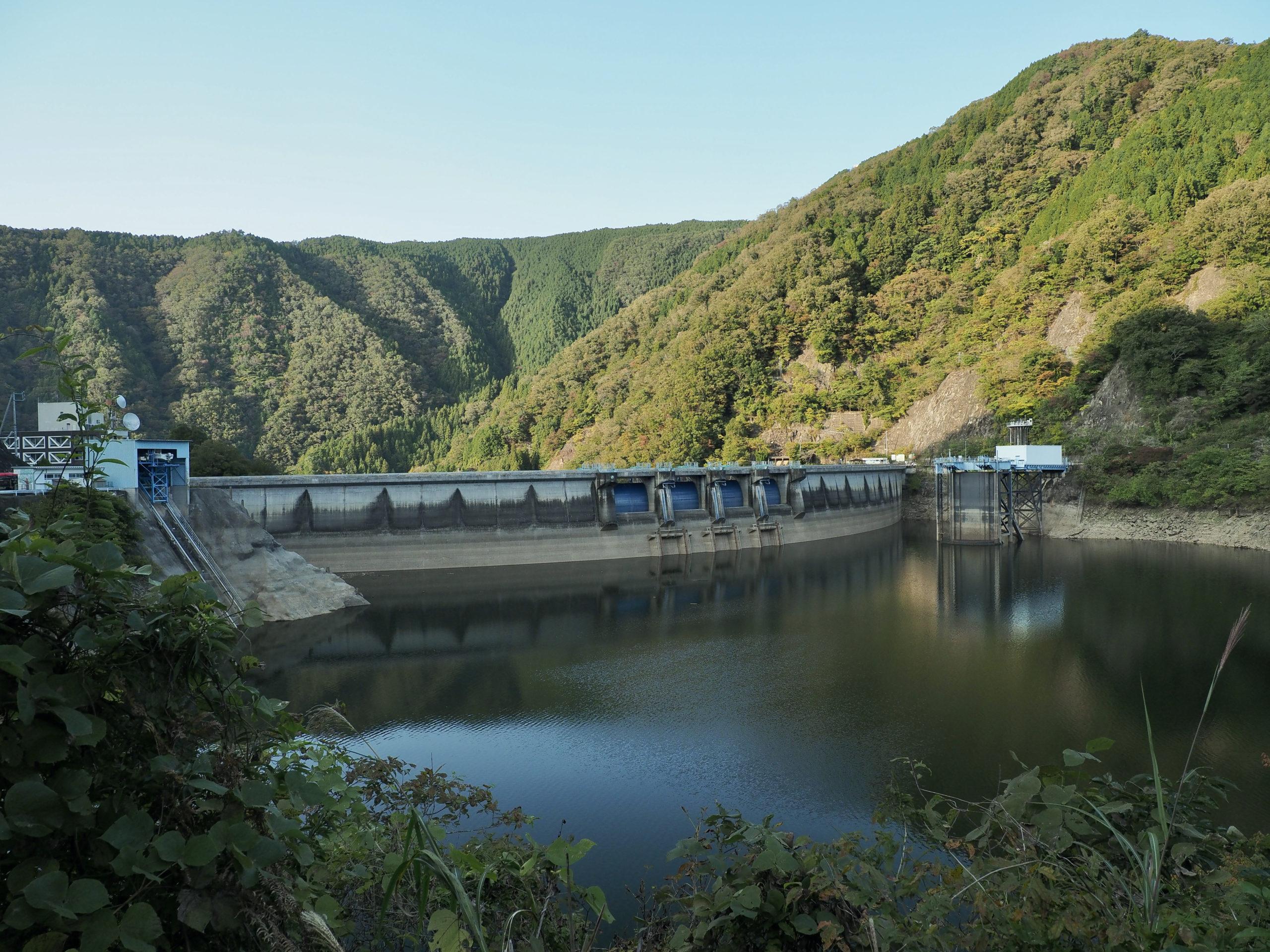 愛知県 奥矢作湖 矢作ダム