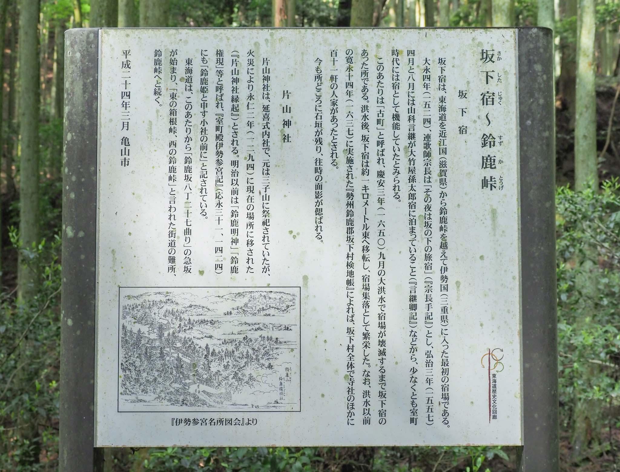 三重県 鈴鹿峠