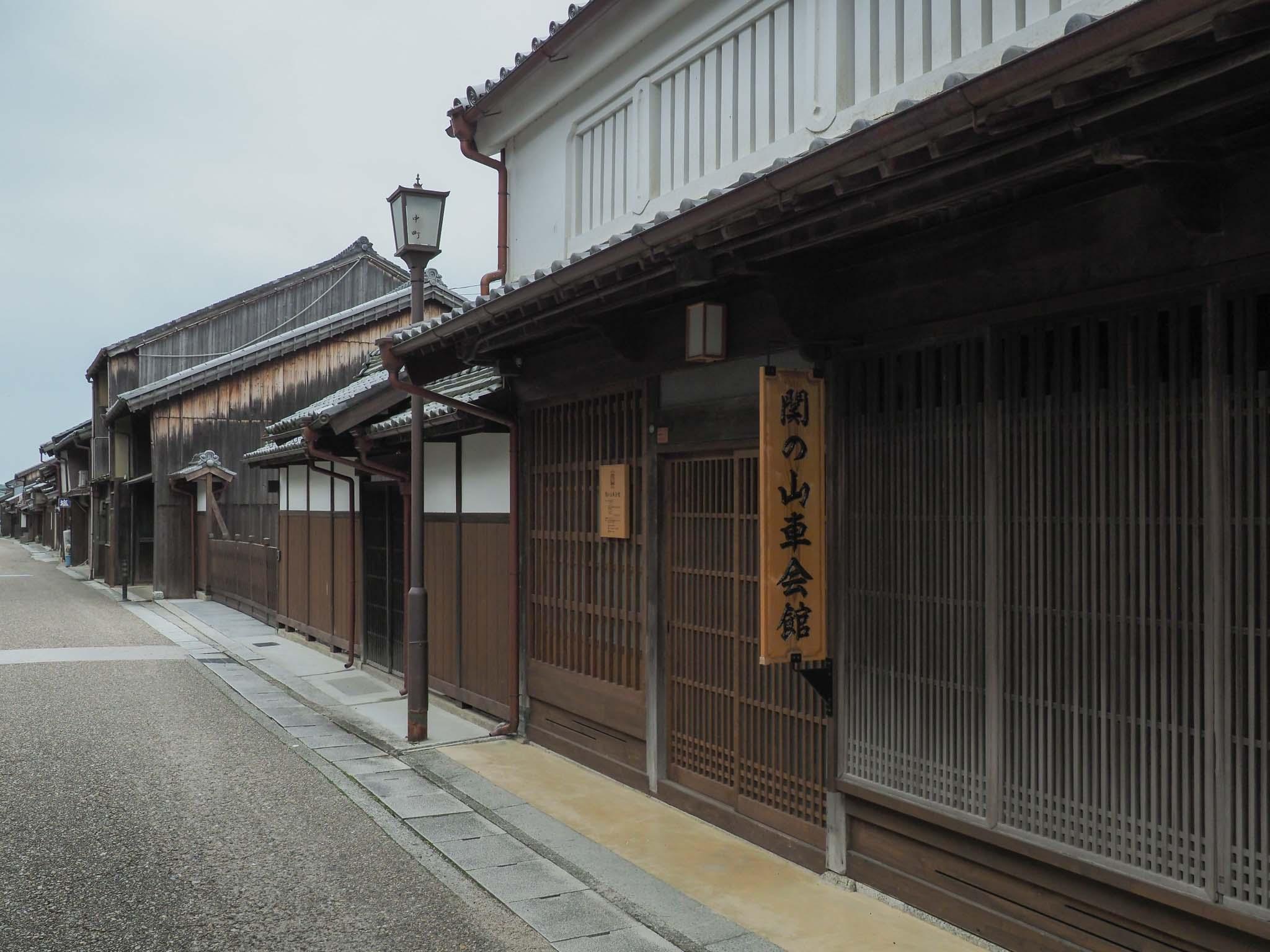 三重県 東海道 関宿