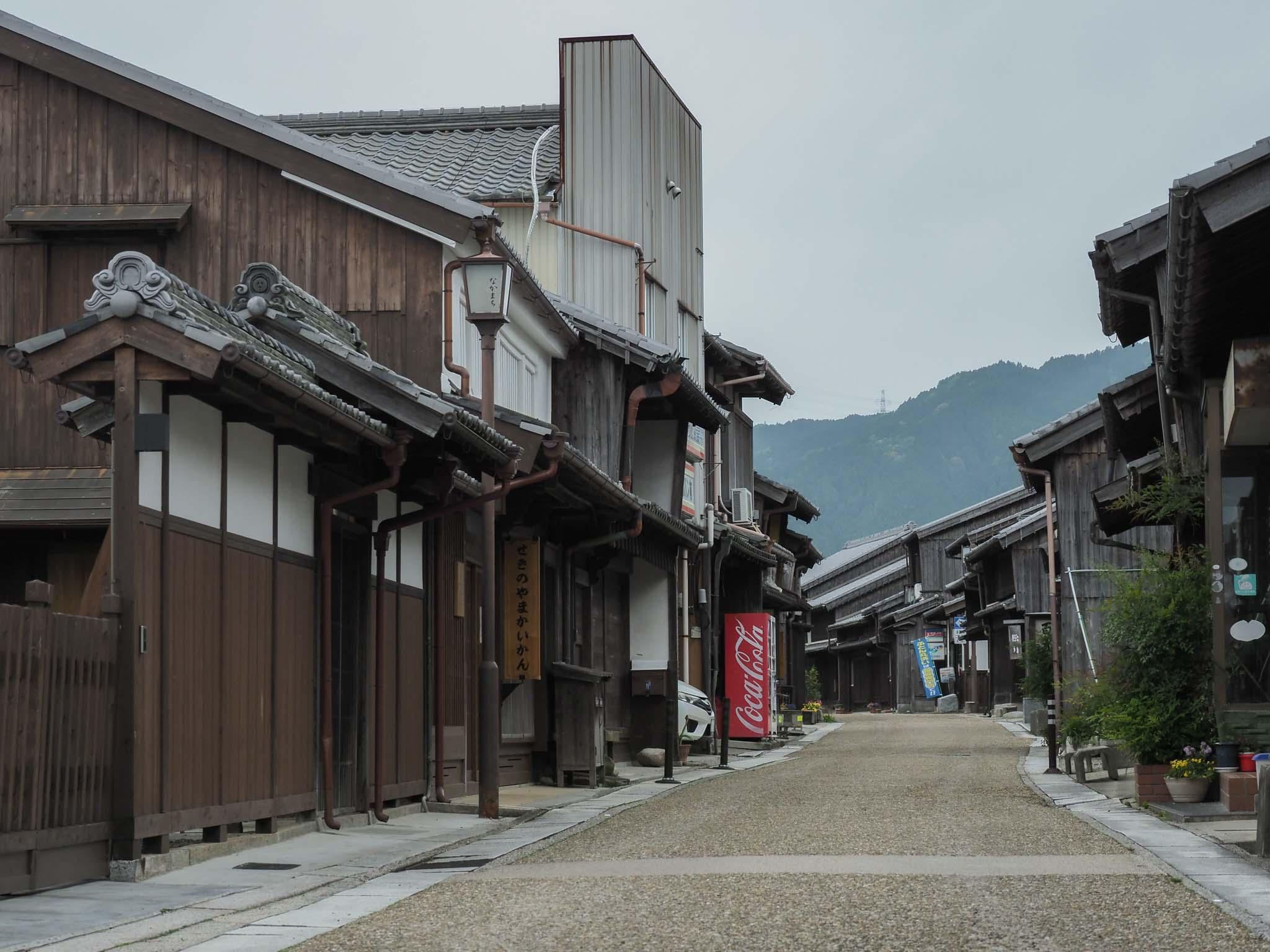 三重県 東海道 関宿 東海自然歩道