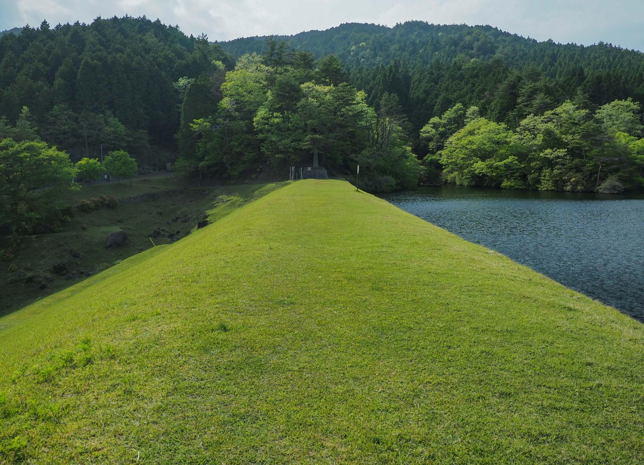 三重県 田代湖 東海自然歩道