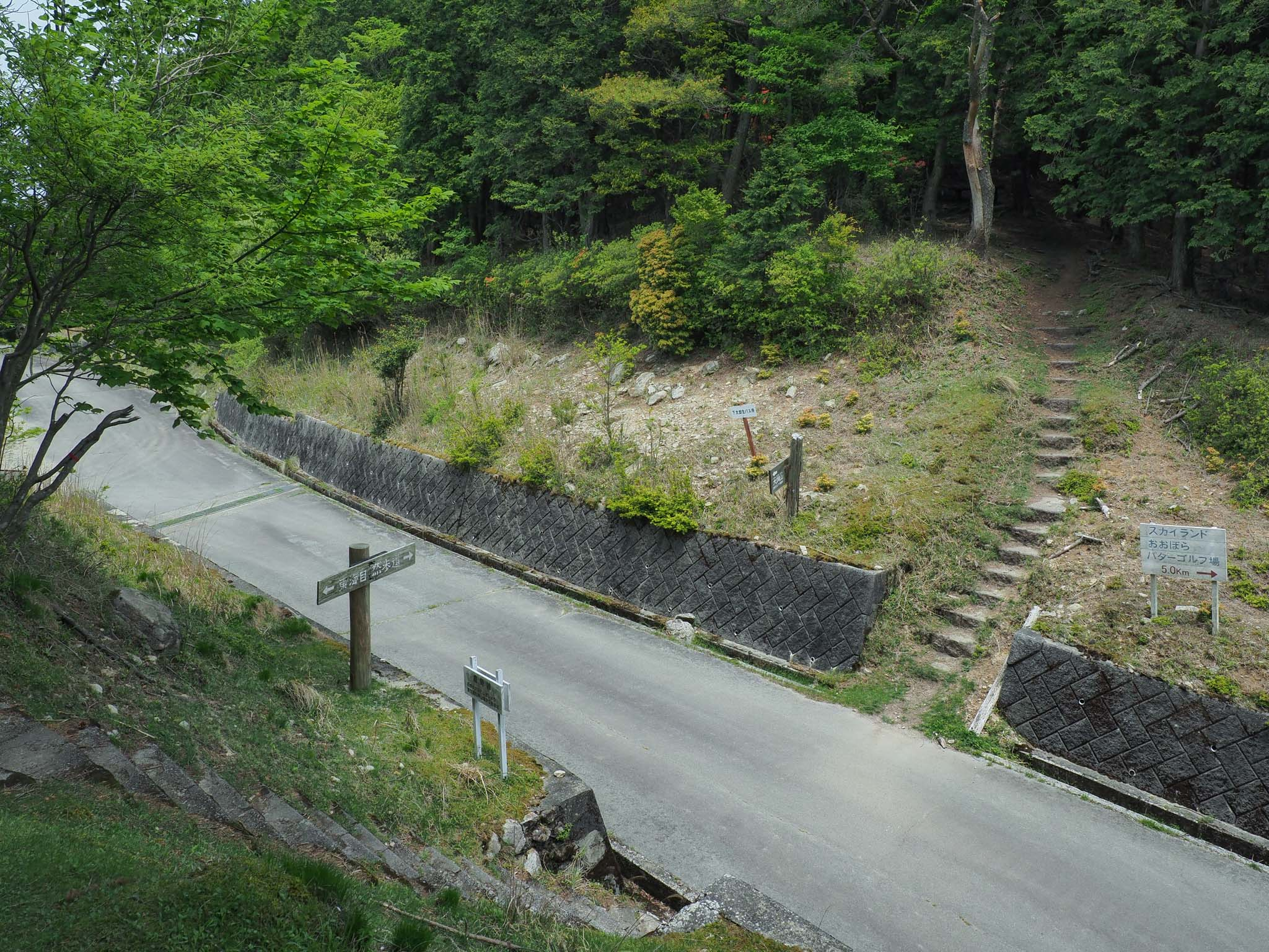 三重県 大洞山 東海自然歩道