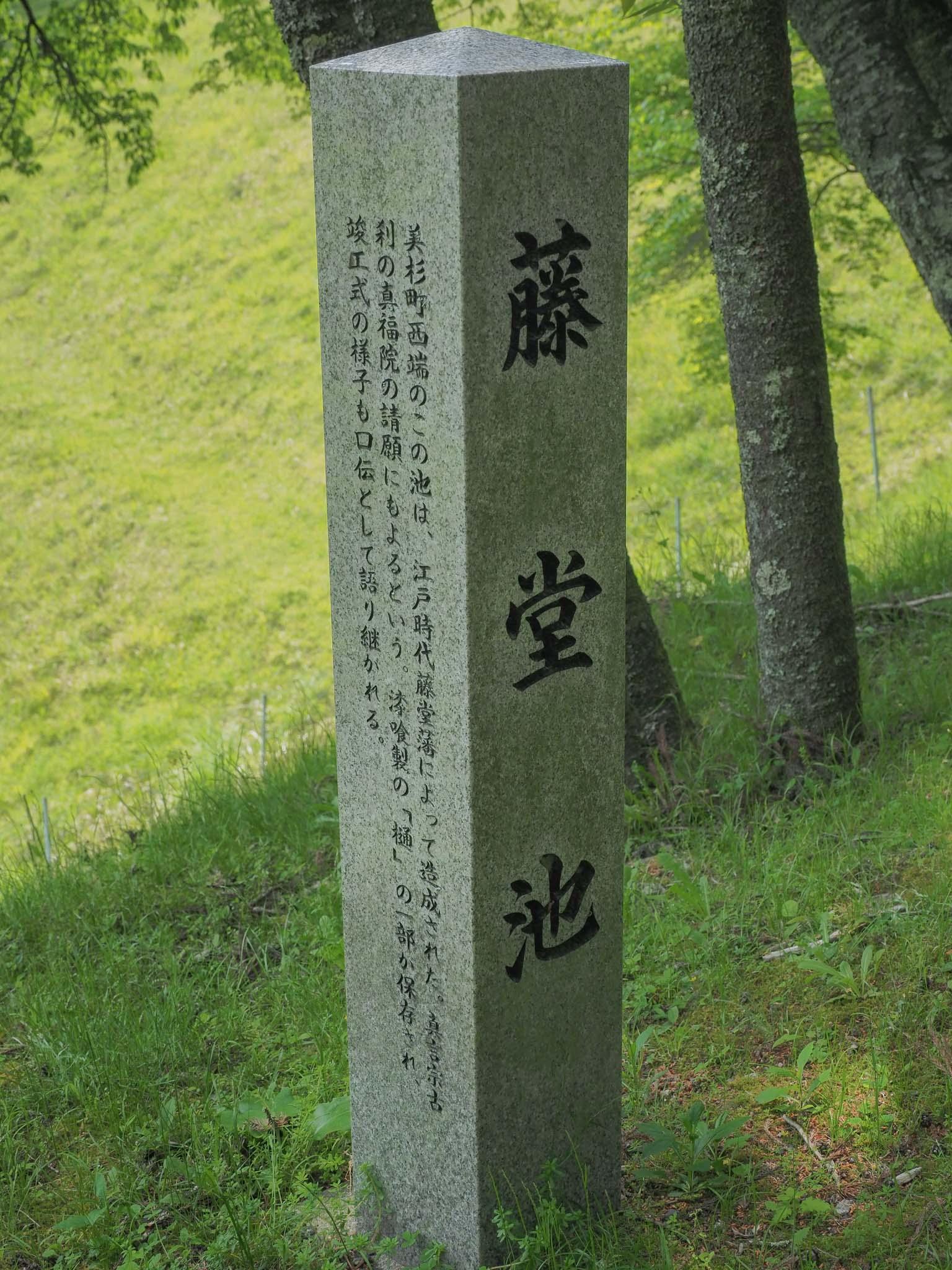 三重県 藤堂池