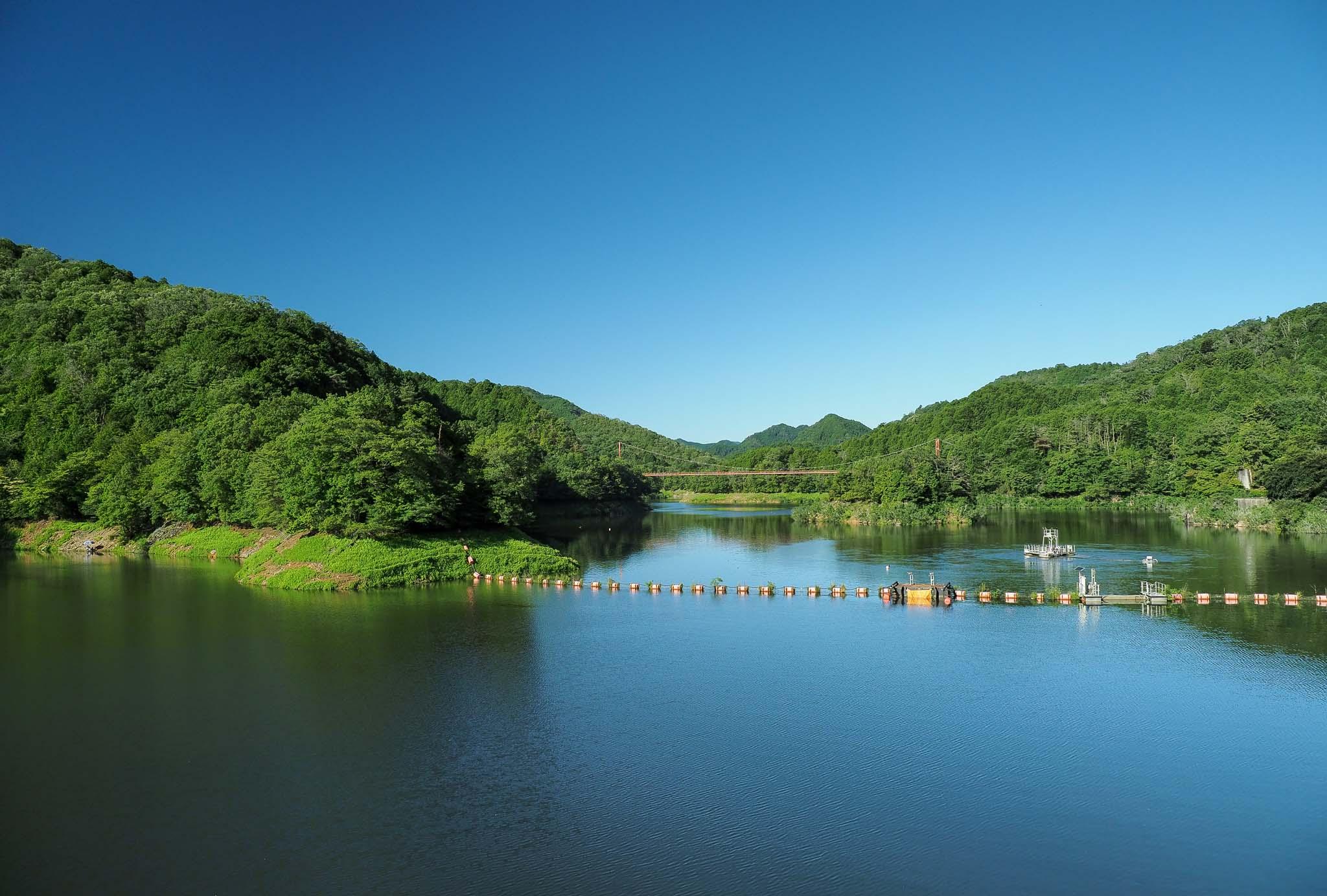 奈良県 室生湖 室生ダム